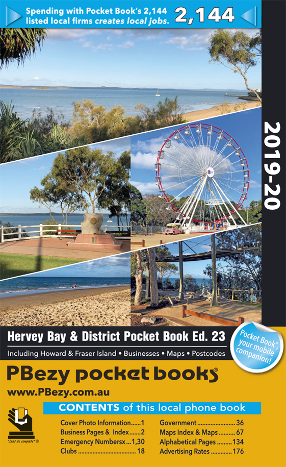 Cover page of Hervey Bay & Districts book