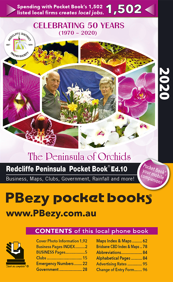 Cover page of Redcliffe Peninsula & Districts book