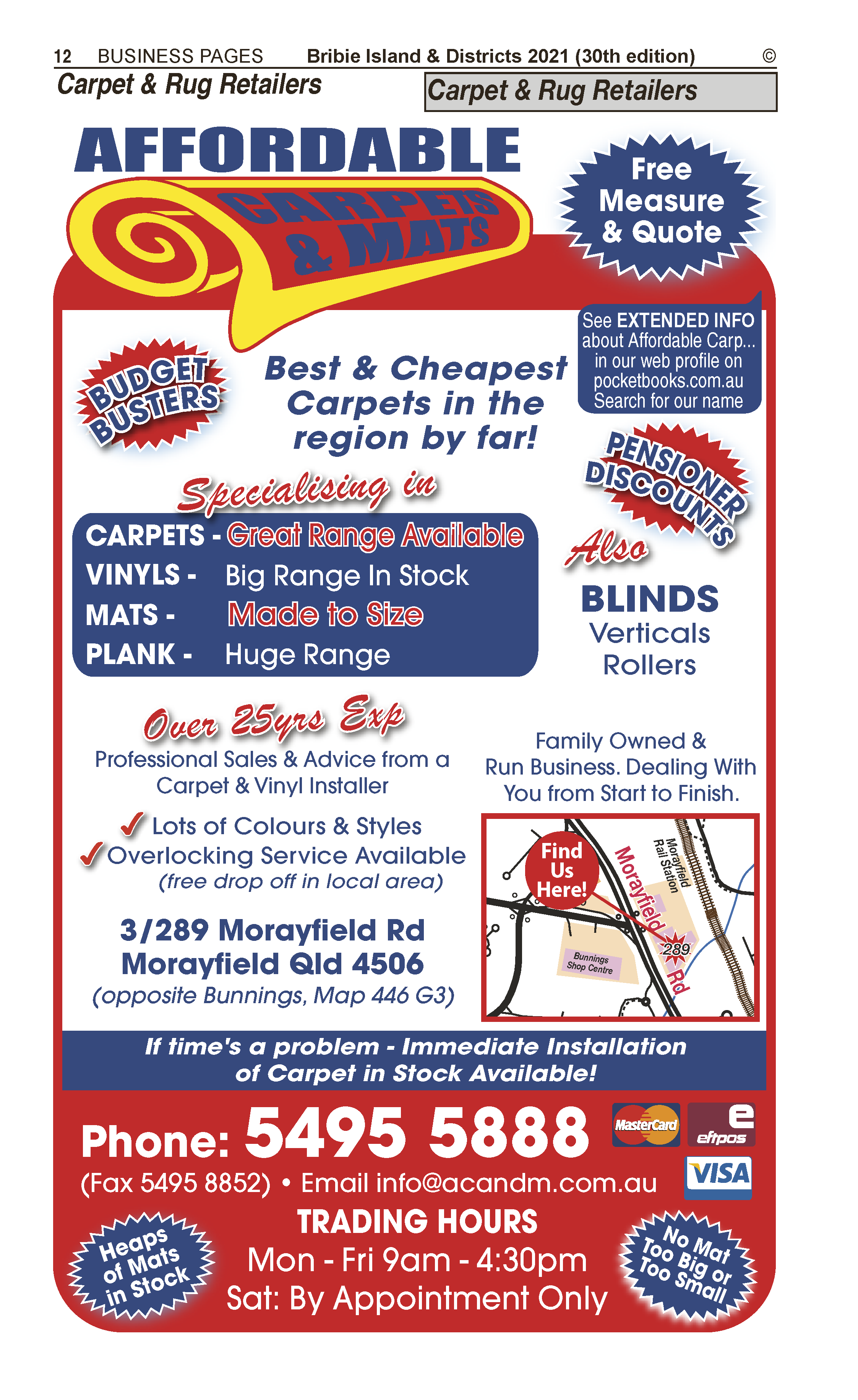 Affordable Carpets & Mats | Carpet & Rugs Retailers in Morayfield | PBezy Pocket Books local directories - page 12