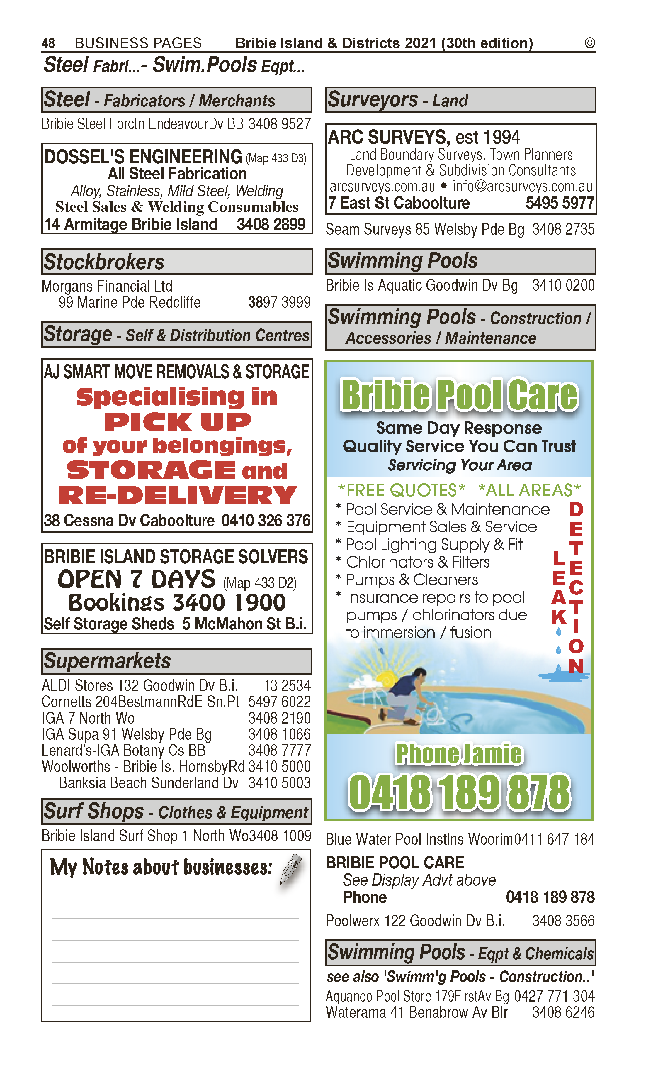 AJ Smart Move Removals & Storage | Furniture – Removals in Caboolture | PBezy Pocket Books local directories - page 48
