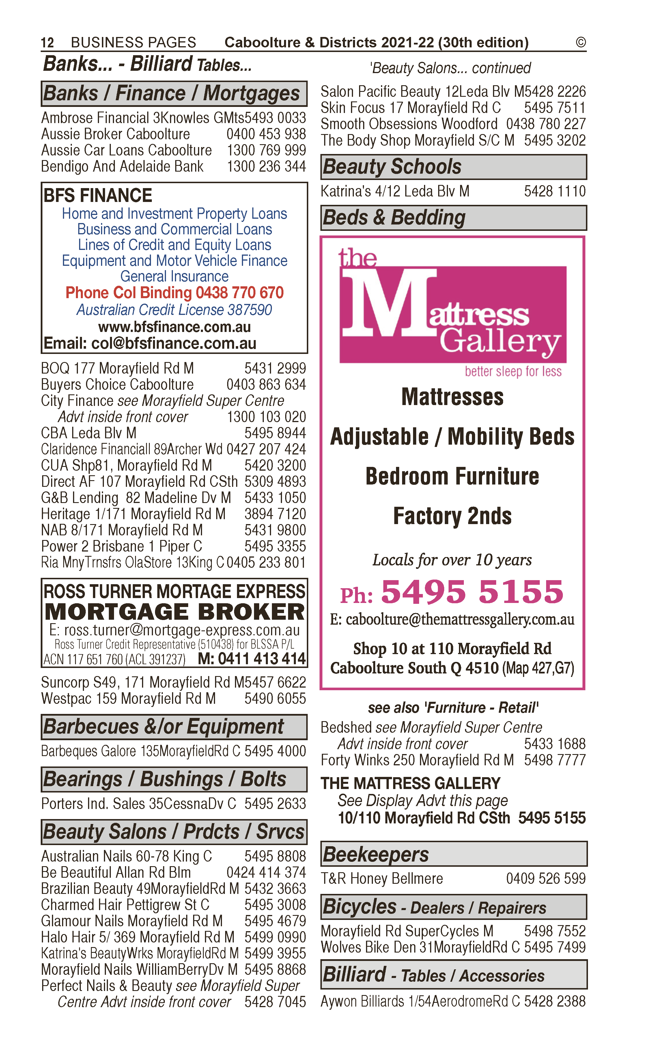 Asset Body Corporate Administration in Bribie Island QLD - page 12
