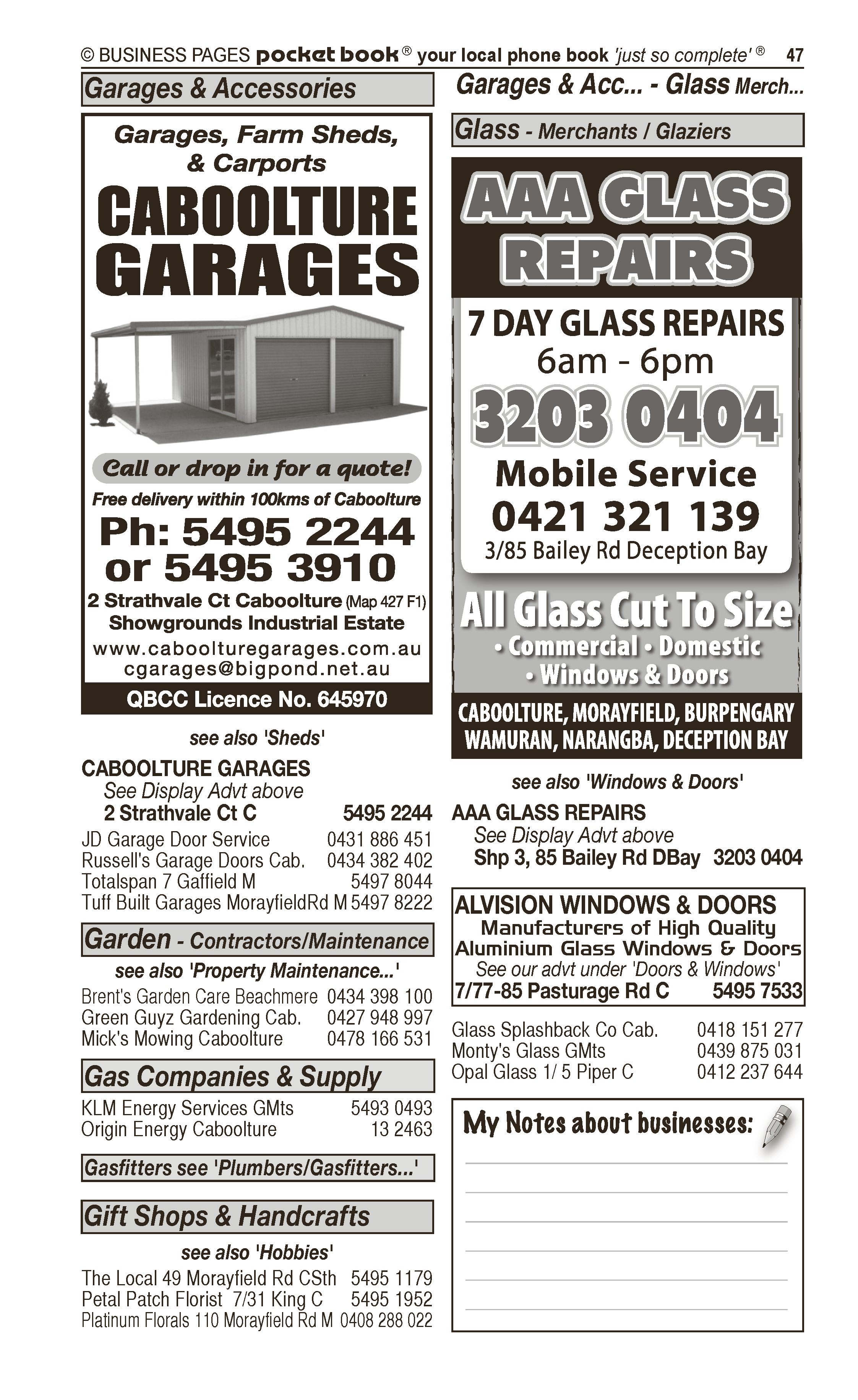 Caboolture Auto Electrics & Air Conditioning | Motor – Electrical in Caboolture | PBezy Pocket Books local directories - page 47