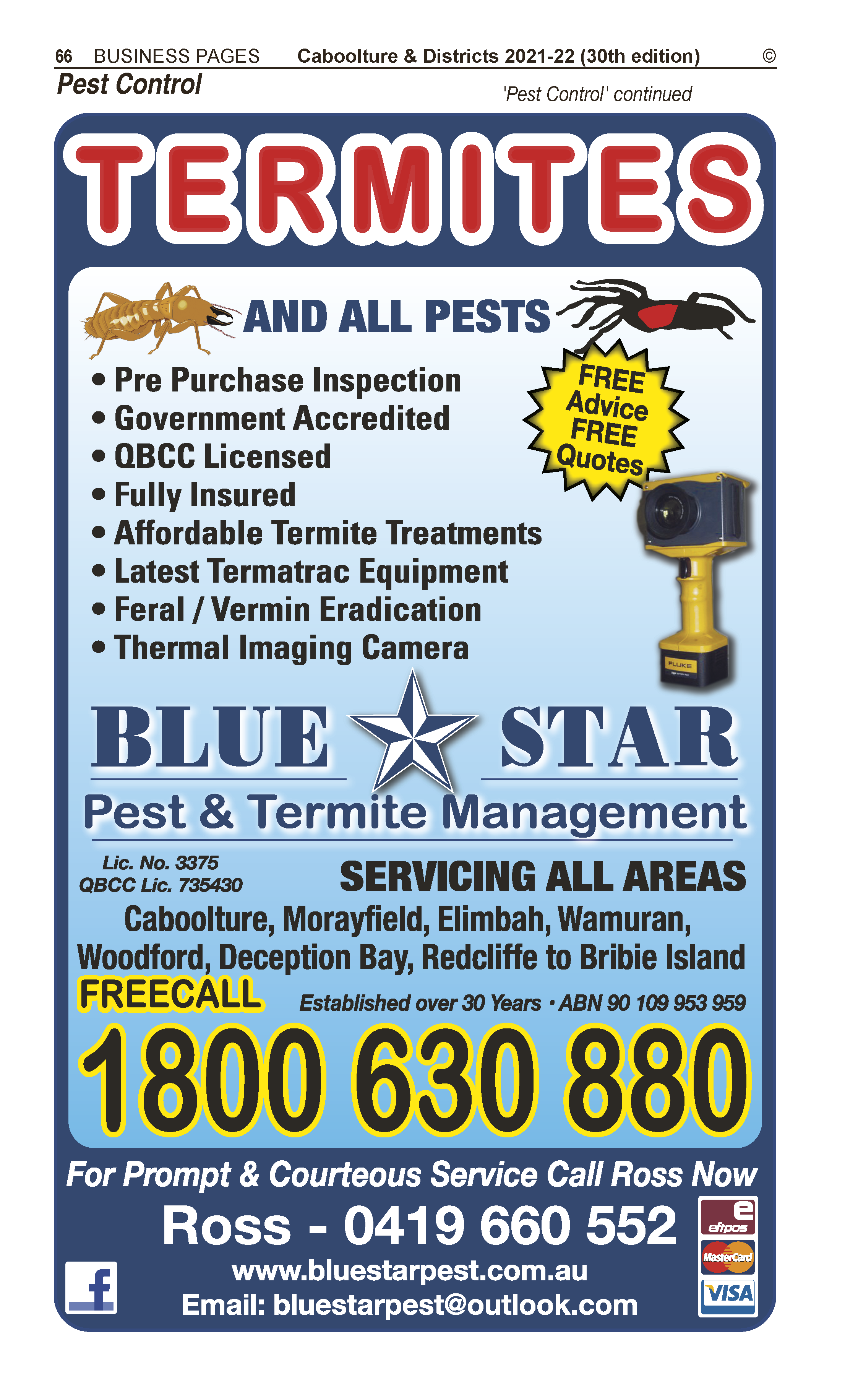 Blue Sky Plumbing Drainage & Gasfitting in Caboolture QLD - page 66