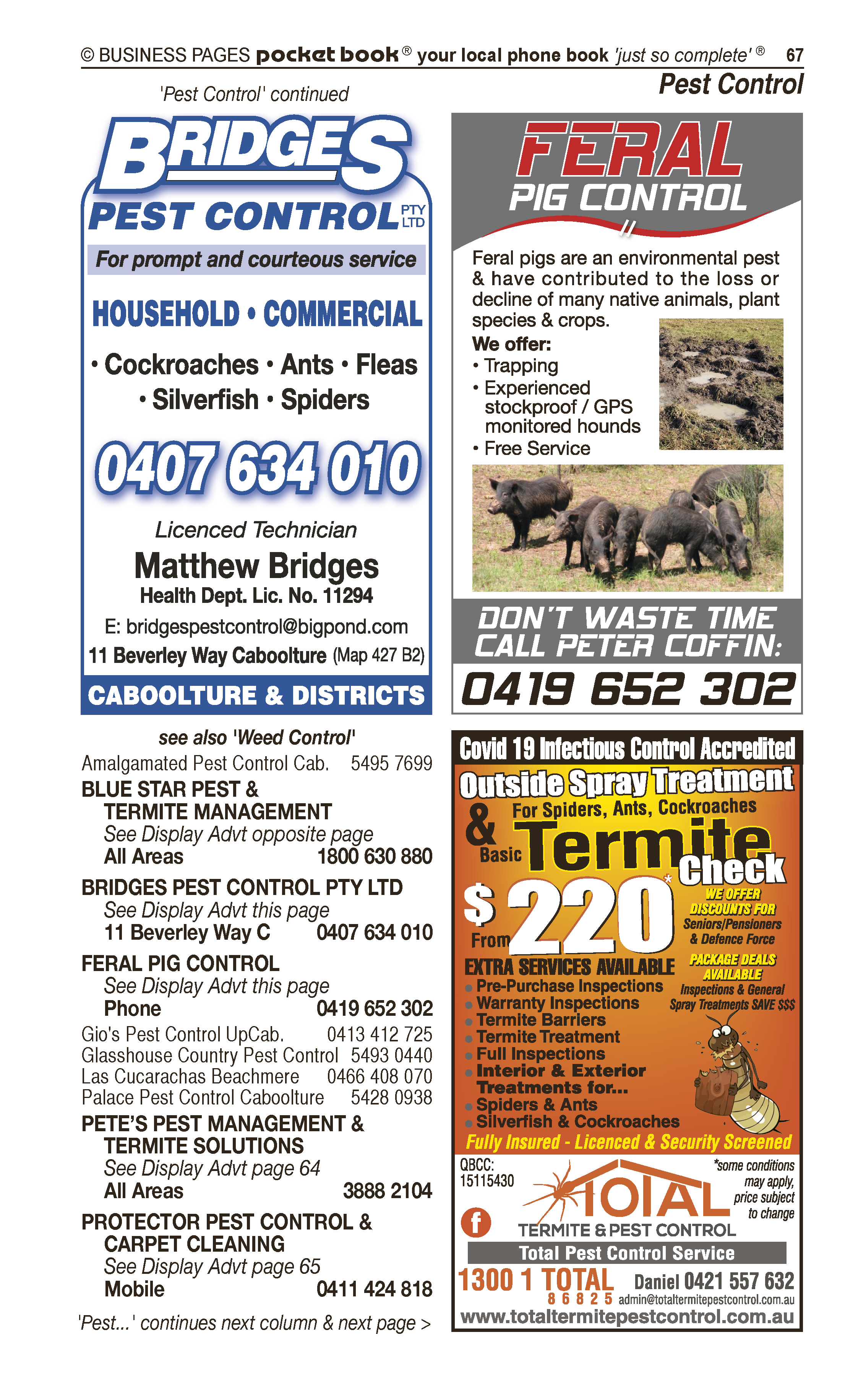 Ace Bins | Rubbish Removers, Rubbish Removal in Morayfield | PBezy Pocket Books local directories - page 67