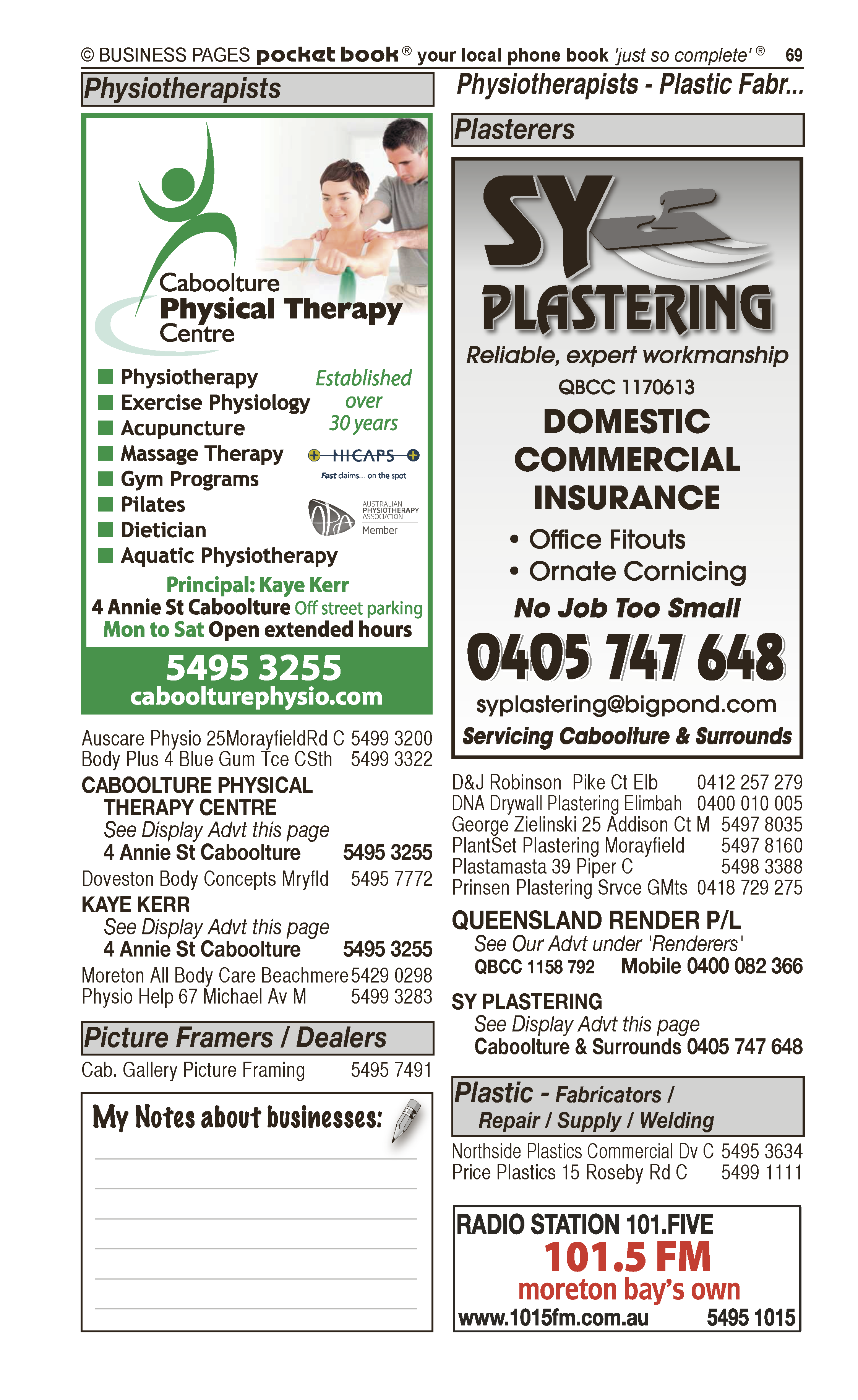 Caboolture Powdercoaters Pty Ltd in Caboolture QLD - page 69