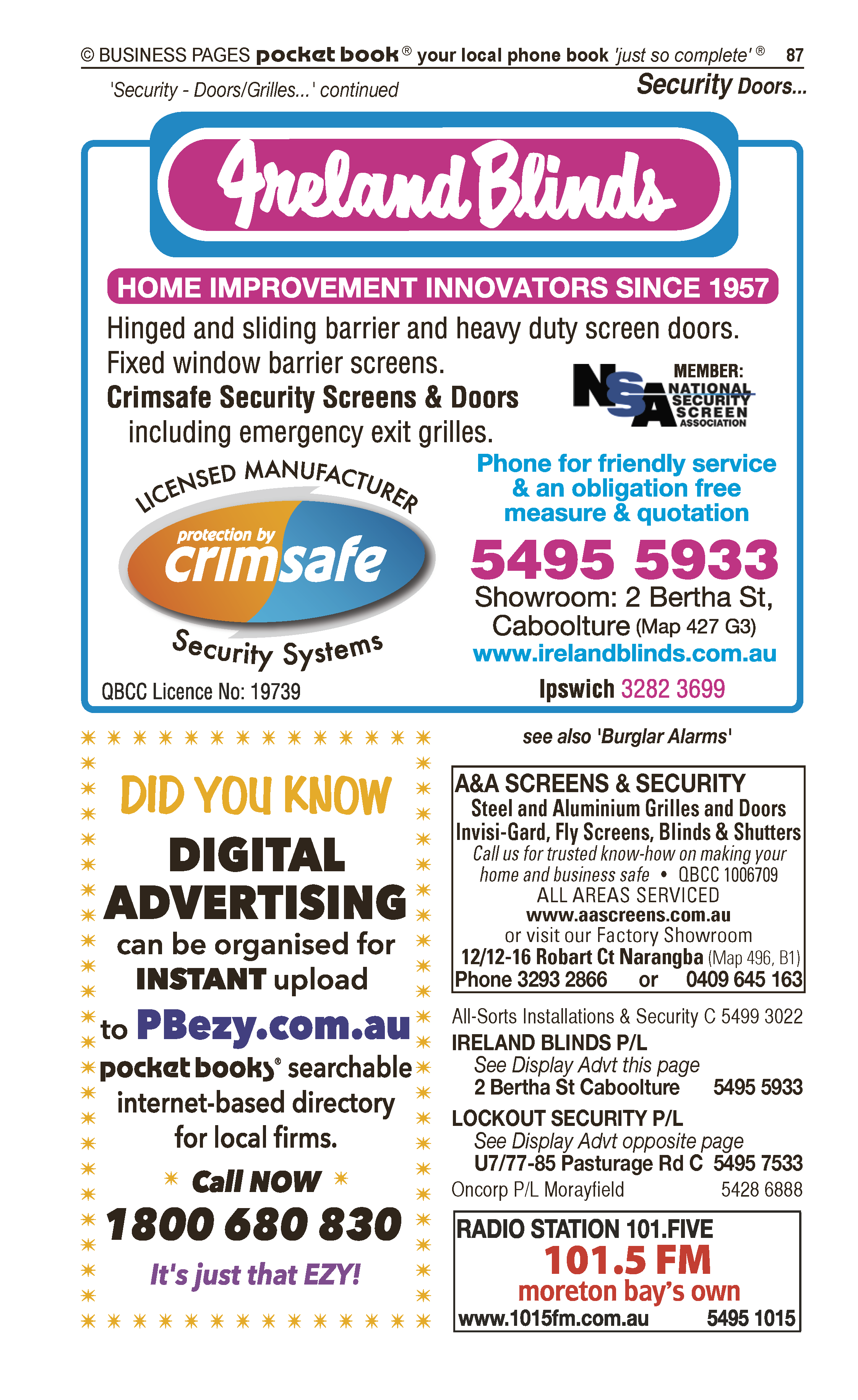 Bribie Accounting Services P/L in Banksia Beach QLD - page 87