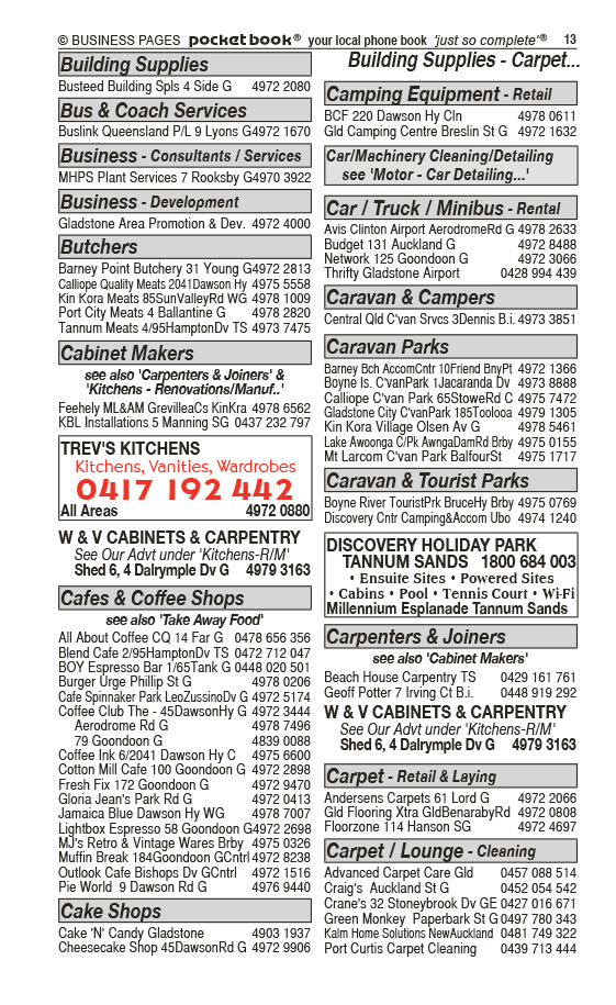 Discovery Holiday Park   Tannum Sands | Caravan & Tourist Parks in Tannum Sands | PBezy Pocket Books local directories - page 13