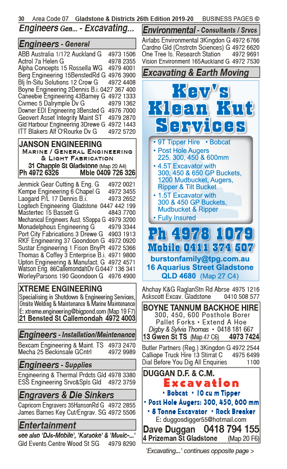 Xtreme Engineering | Engineers – General in Callemondah | PBezy Pocket Books local directories - page 30