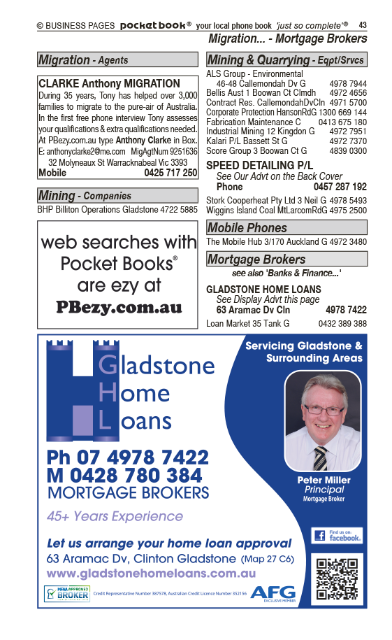 Speed Detailing Pty Ltd | Agricultural – Machinery & Services in Gladstone | PBezy Pocket Books local directories - page 43