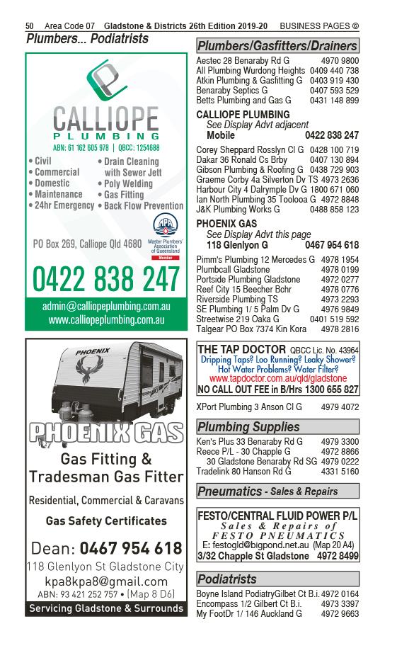 Festo/Central Fluid Power Pty Ltd | Pneumatics – Sales & Repairs in Gladstone | PBezy Pocket Books local directories - page 50