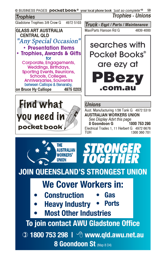 MJ's Shear'n Shed in Beecher QLD - page 59