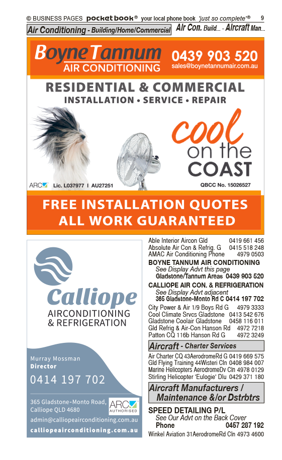 Boyne Tannum Air Conditioning in Gladstone QLD - page 9