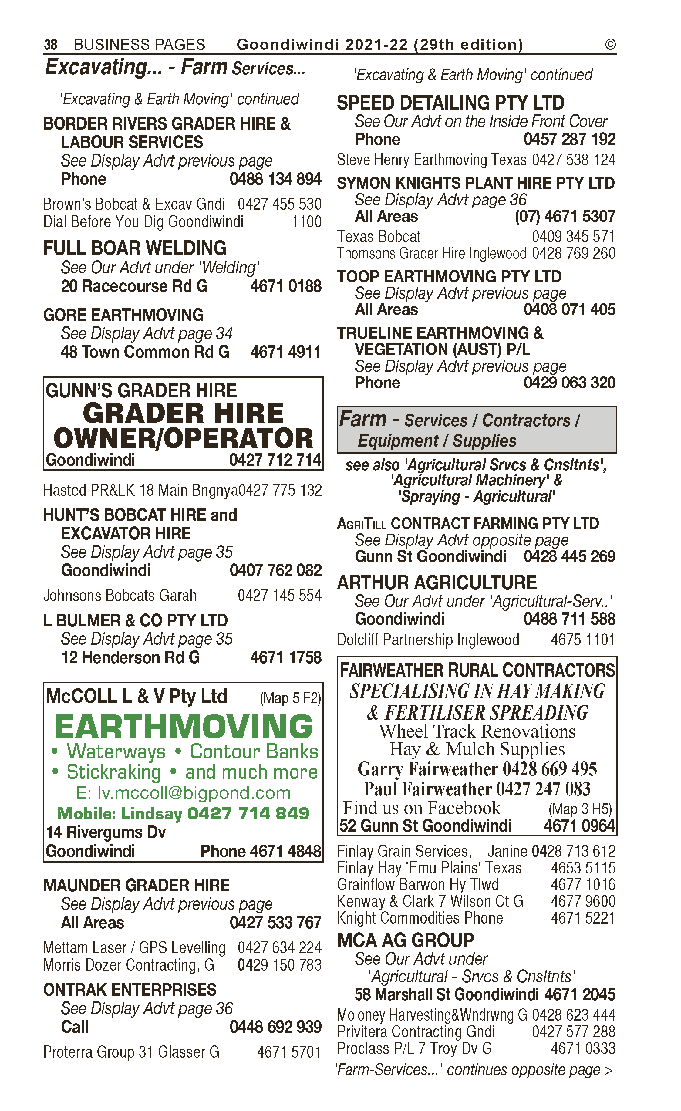 Diesel Care | Agricultural – Machinery & Services in Goondiwindi | PBezy Pocket Books local directories - page 38