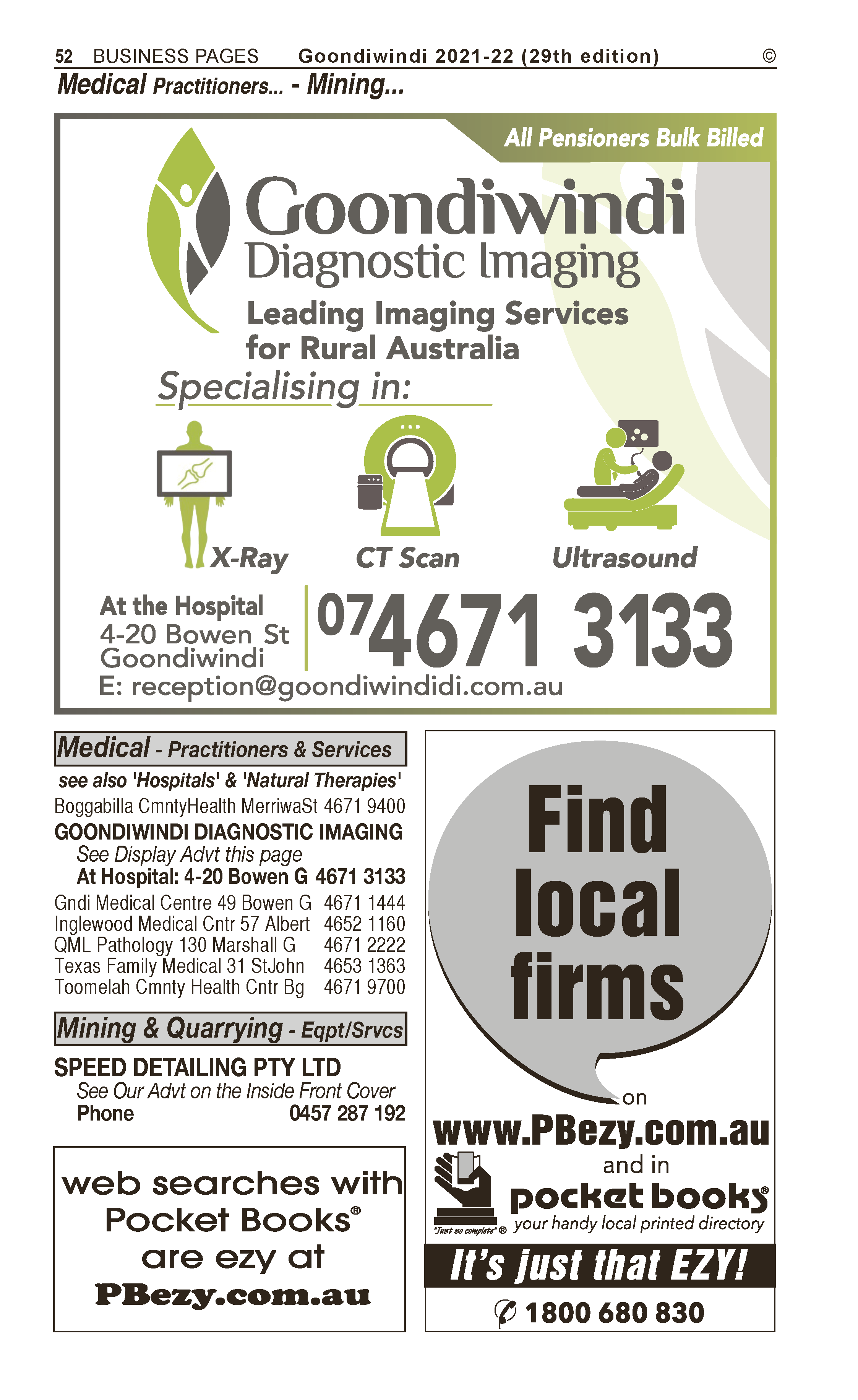 Stewart's Grain Trading | Agricultural – Consultants, Services in Goondiwindi | PBezy Pocket Books local directories - page 52