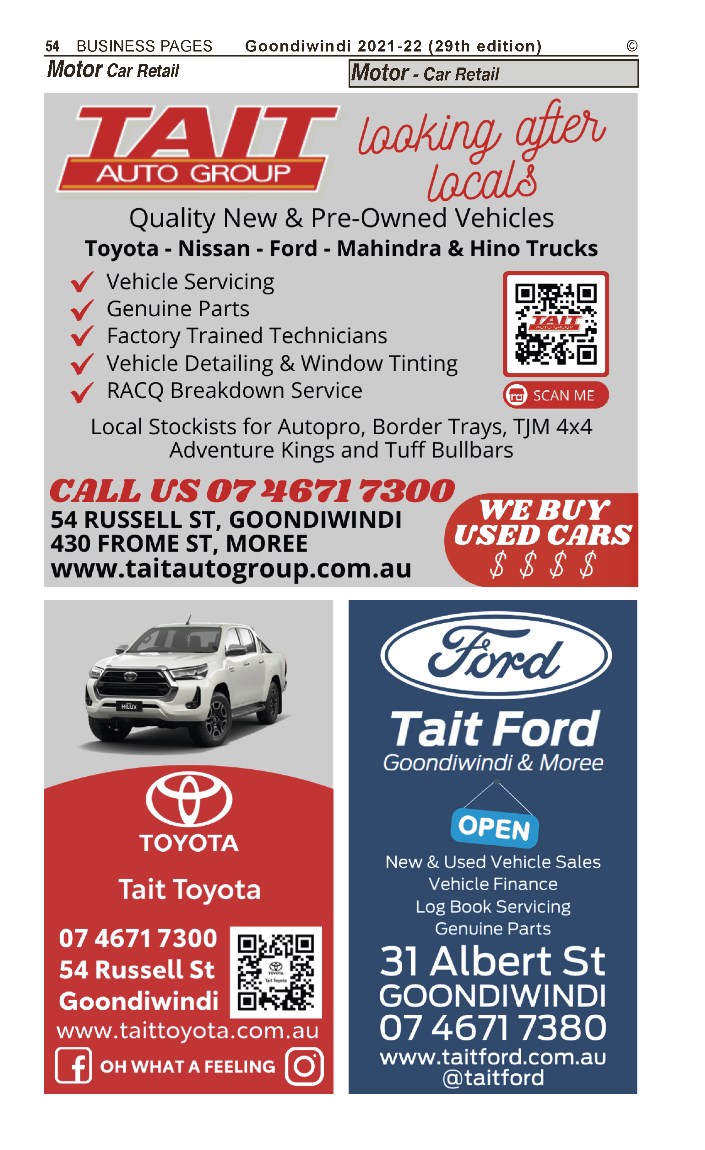 Campbell's Fuel Service (BP Aust Ltd Distributors) in Goondiwindi QLD - page 54