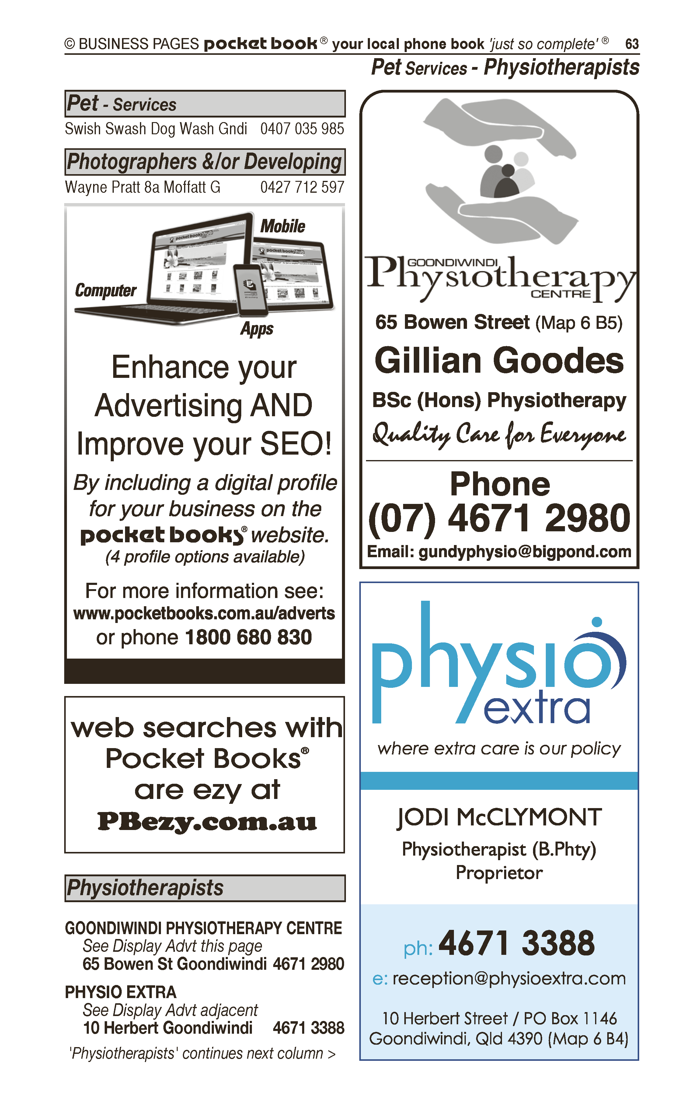 Reconnective Healing | Natural Therapies in Goondiwindi | PBezy Pocket Books local directories - page 63
