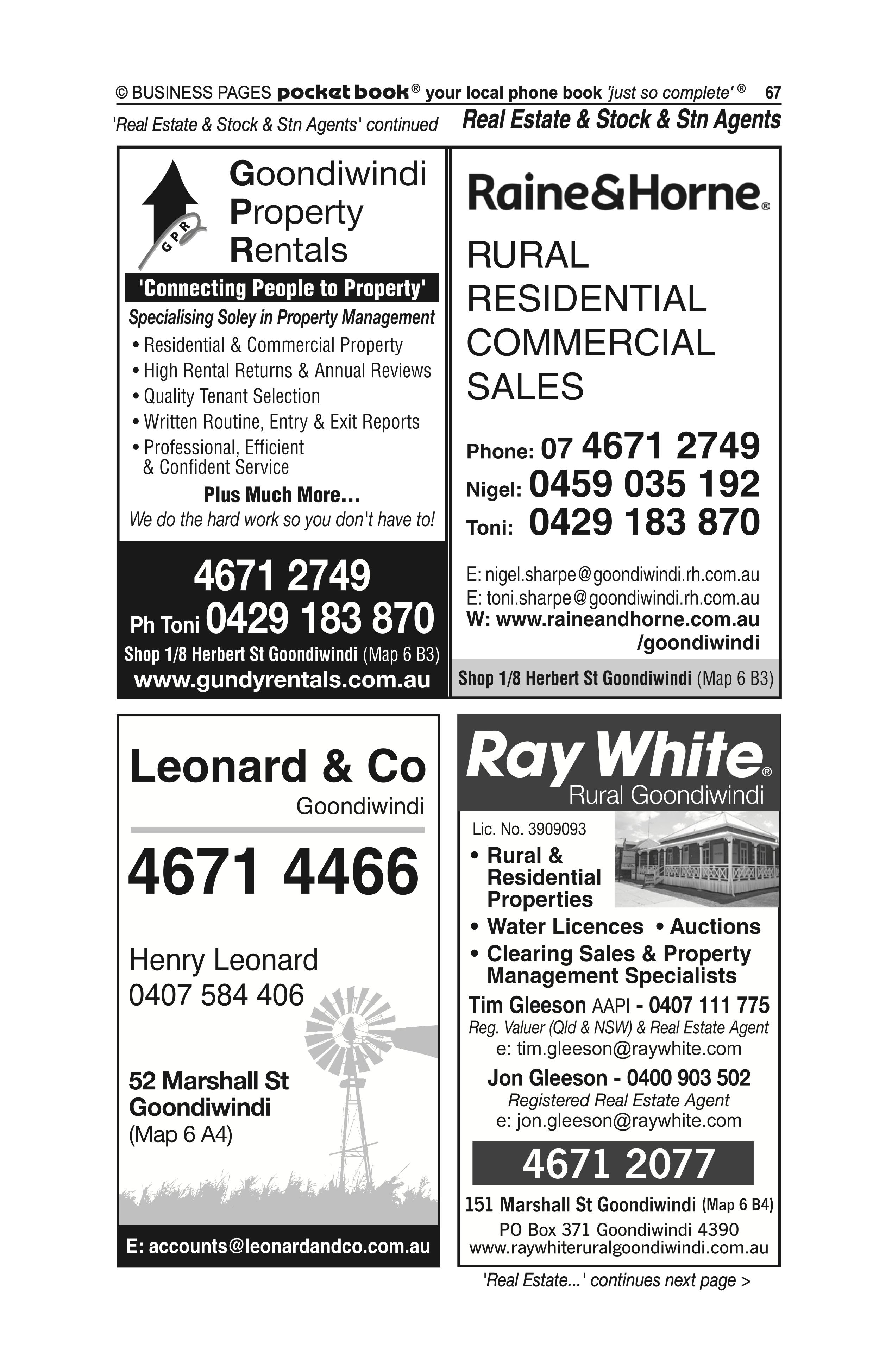 Goondiwindi Hydraulics in Goondiwindi QLD - page 67