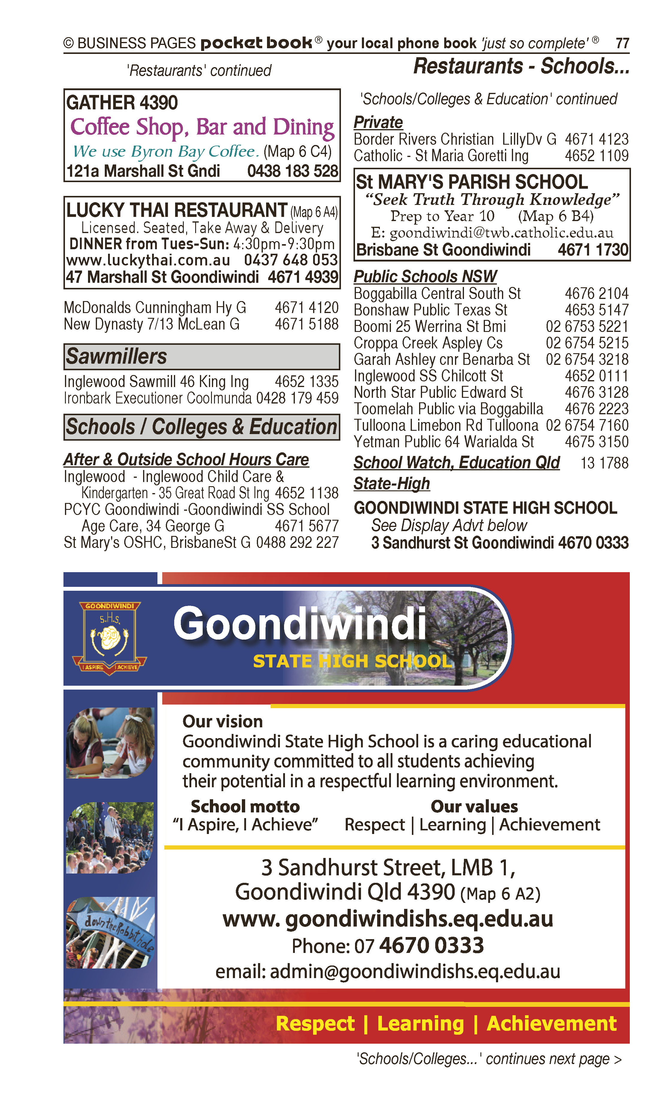 Gundy Mechanical Services in Goondiwindi QLD - page 77