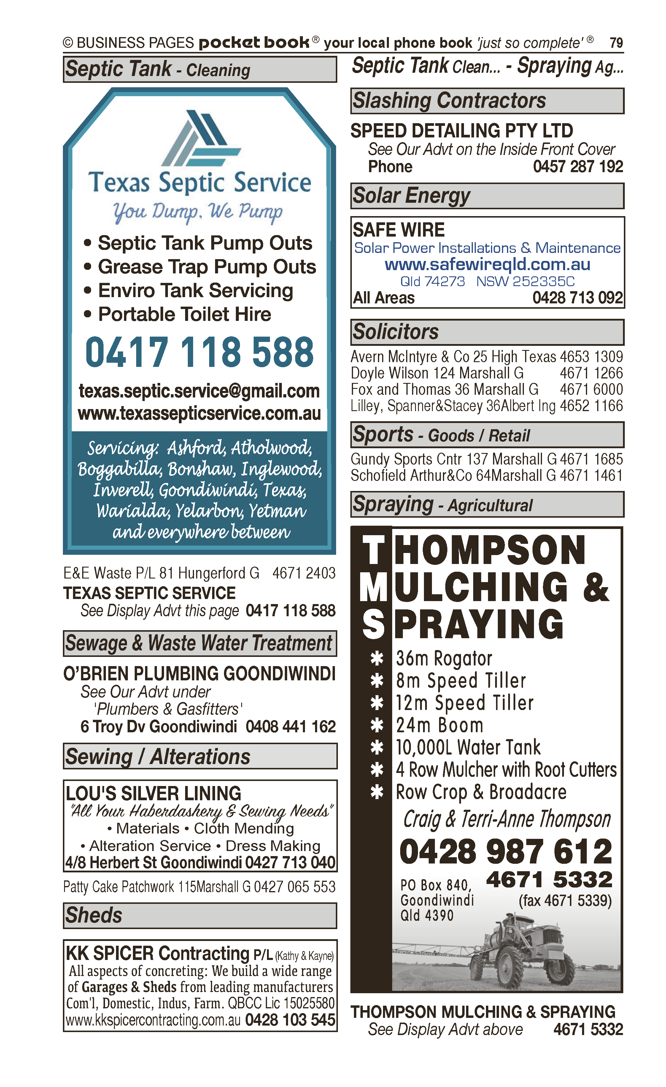 Integrated Therapy Solutions | Occupational Therapy in Goondiwindi | PBezy Pocket Books local directories - page 79