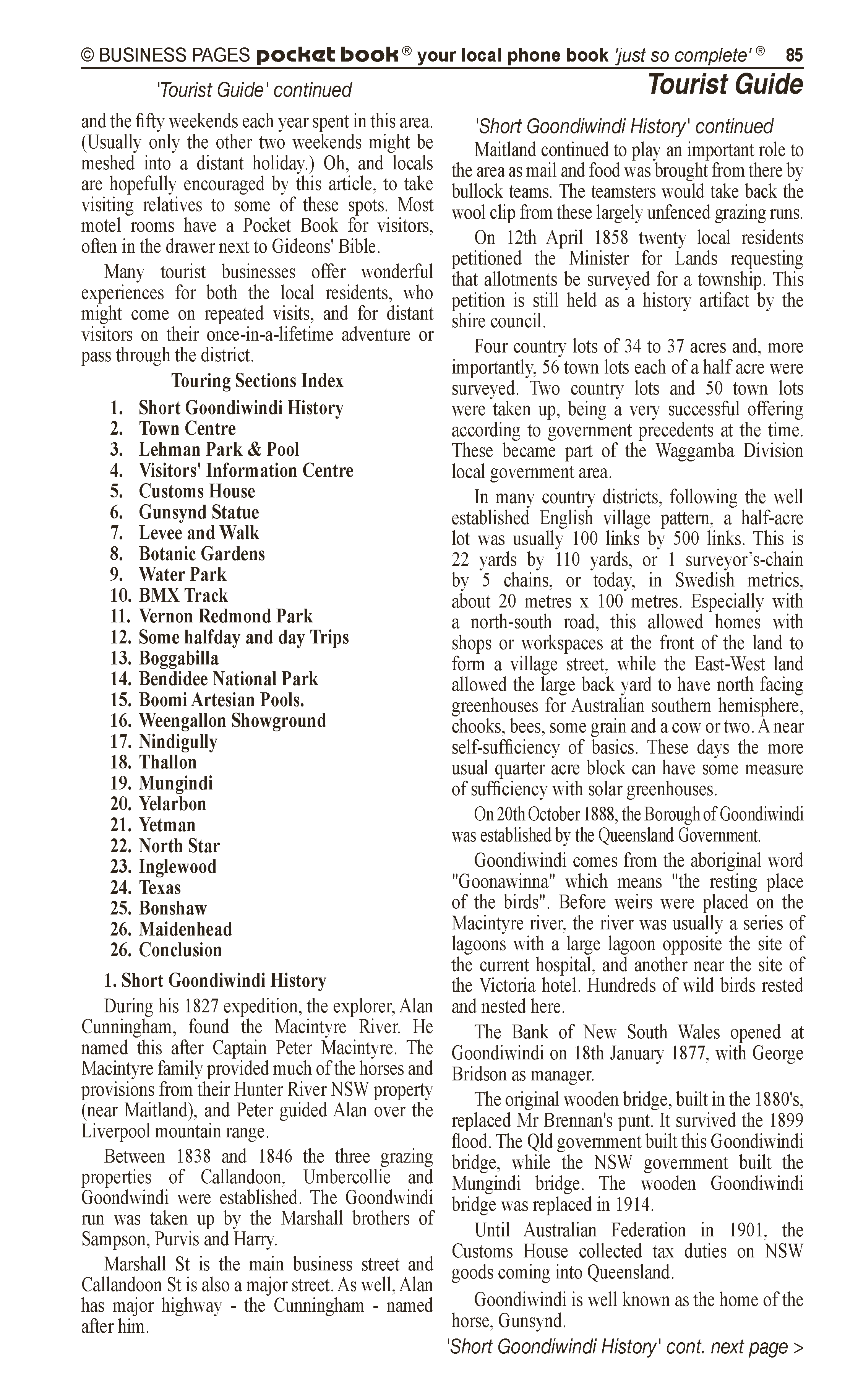 Ag Spray Centre | Spraying – Agricultural in Goondiwindi | PBezy Pocket Books local directories - page 85