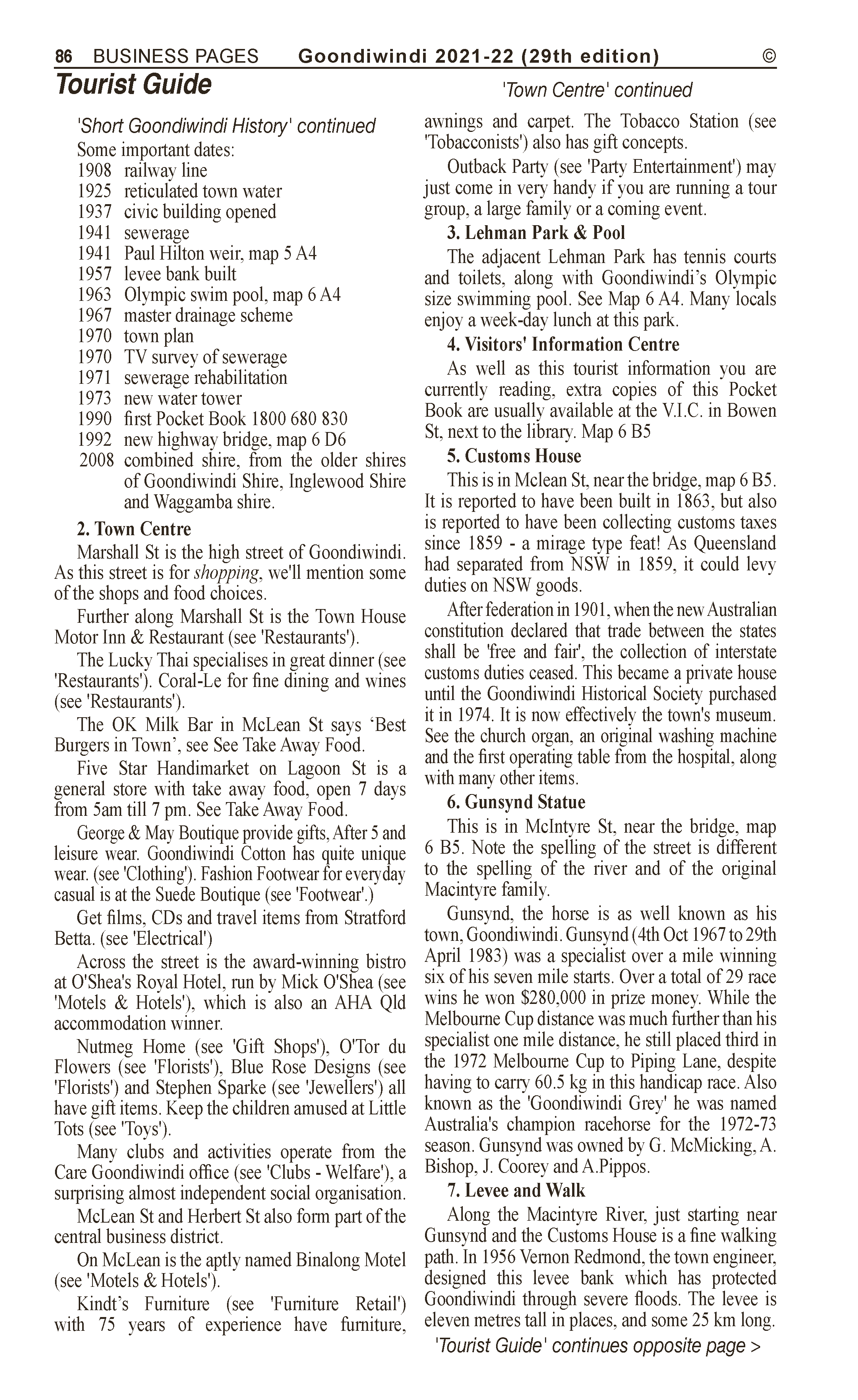 Goondiwindi Mini Storage | Storage – General in Goondiwindi | PBezy Pocket Books local directories - page 86