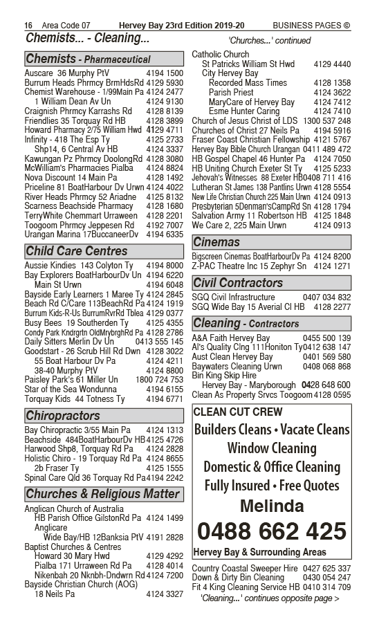 The French Bakehouse in Urangan QLD - page 16