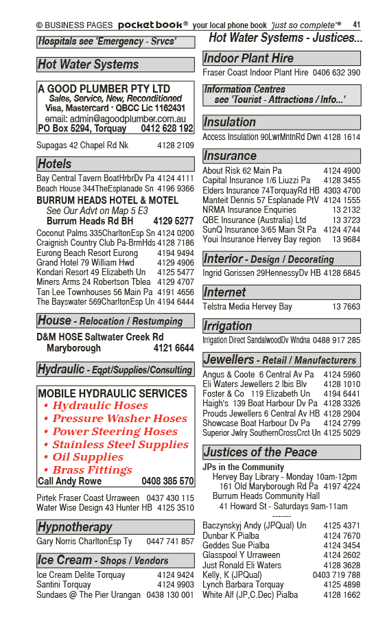 Hervey Bay Drott Hire in Susan River QLD - page 41
