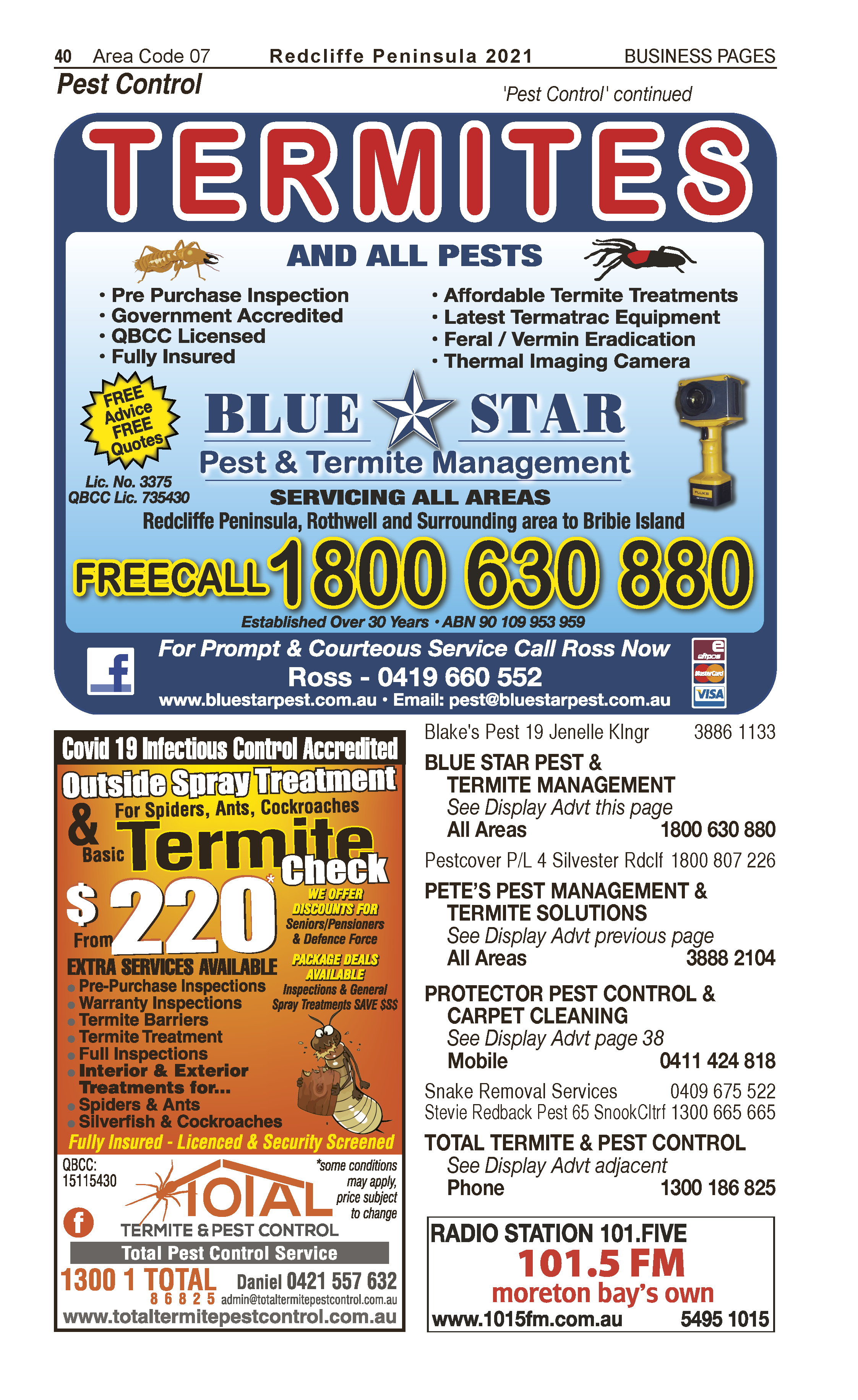 Protector Carpet Cleaning & Pest Control | Upholstery Cleaners in Kippa Ring | PBezy Pocket Books local directories - page 40