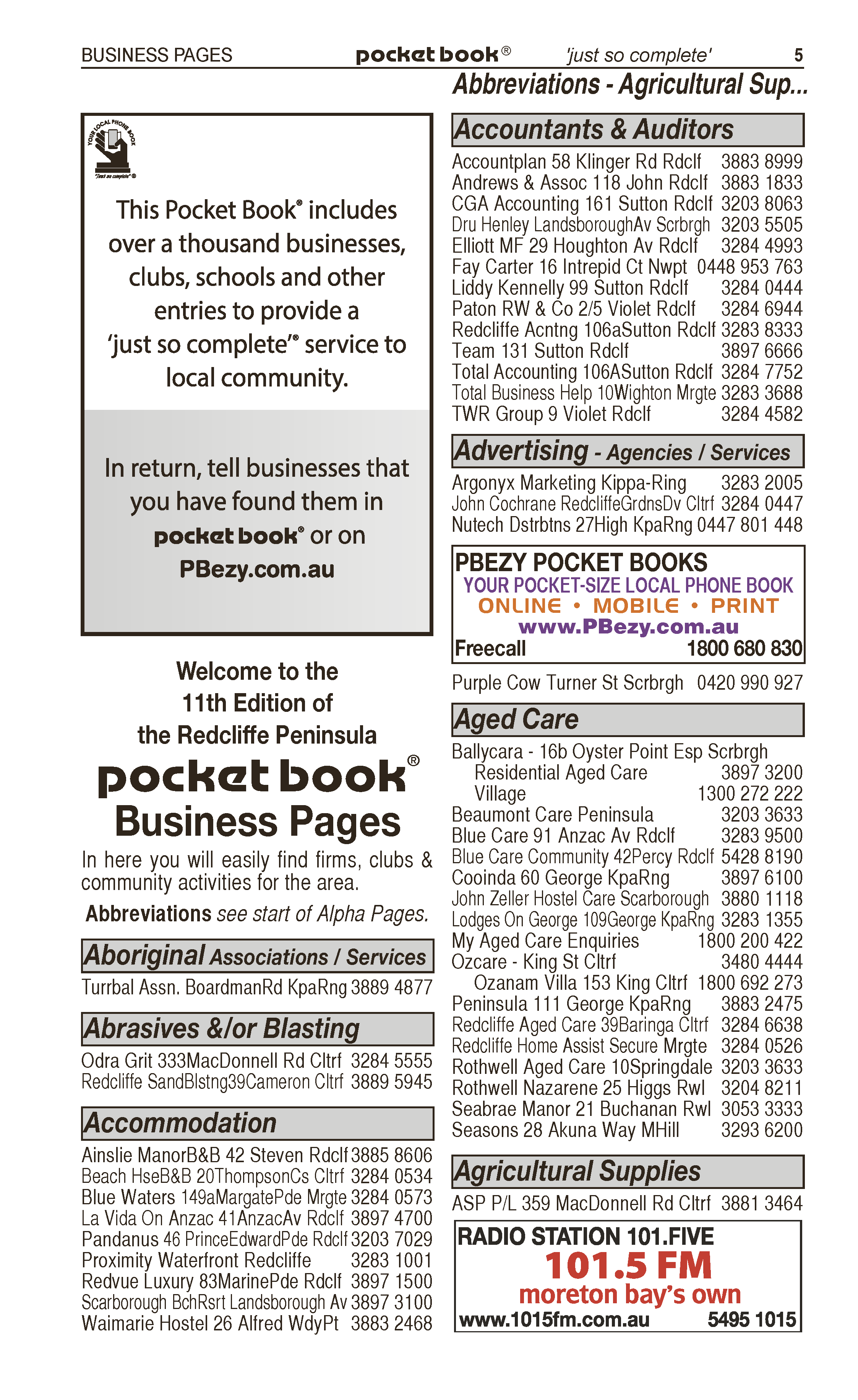 PBezy Pocket Books | Advertising Agencies in Beerwah | PBezy Pocket Books local directories - page 5