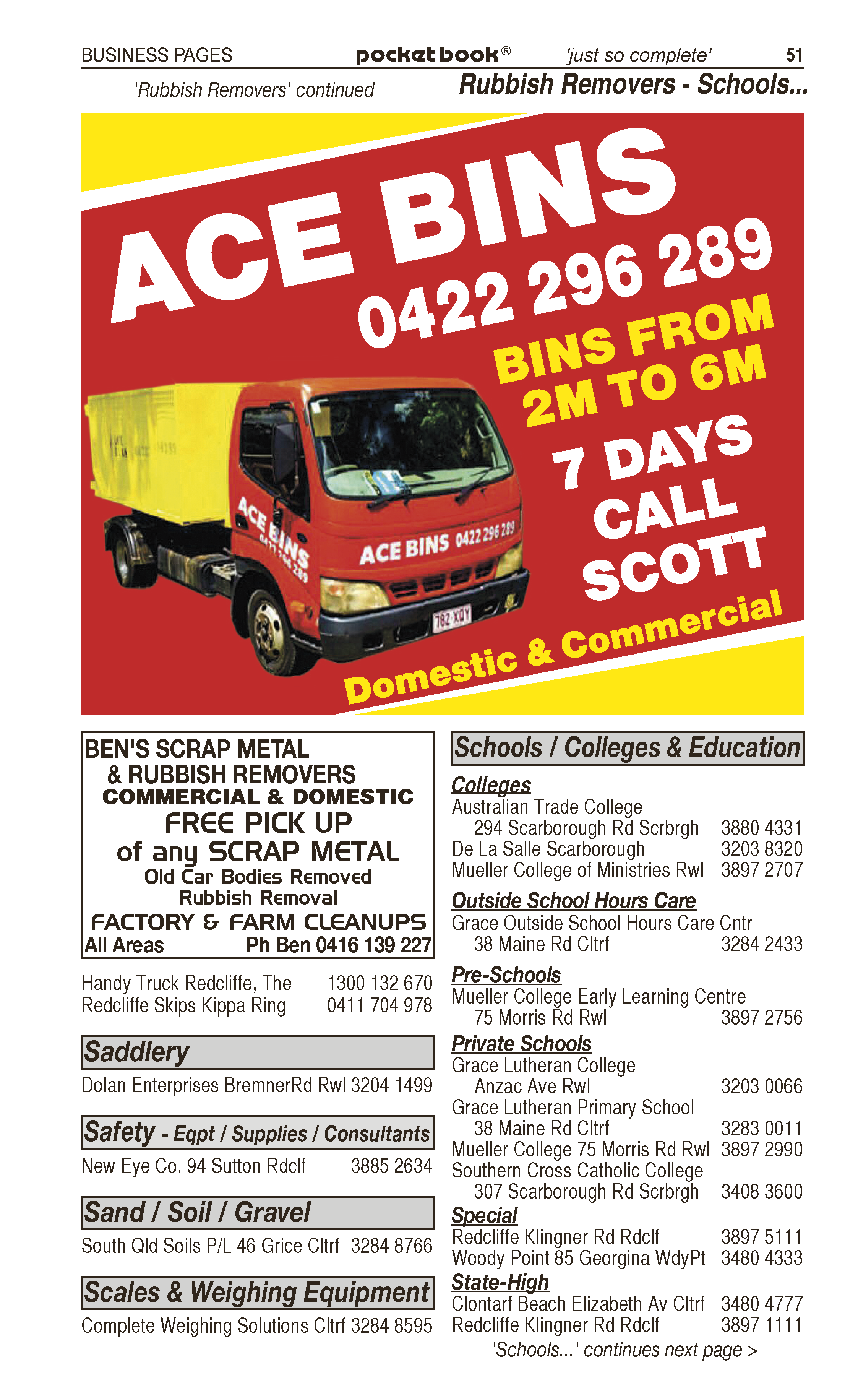 Ben's Scrap Metal & Rubbish Removal in Burpengary QLD - page 51