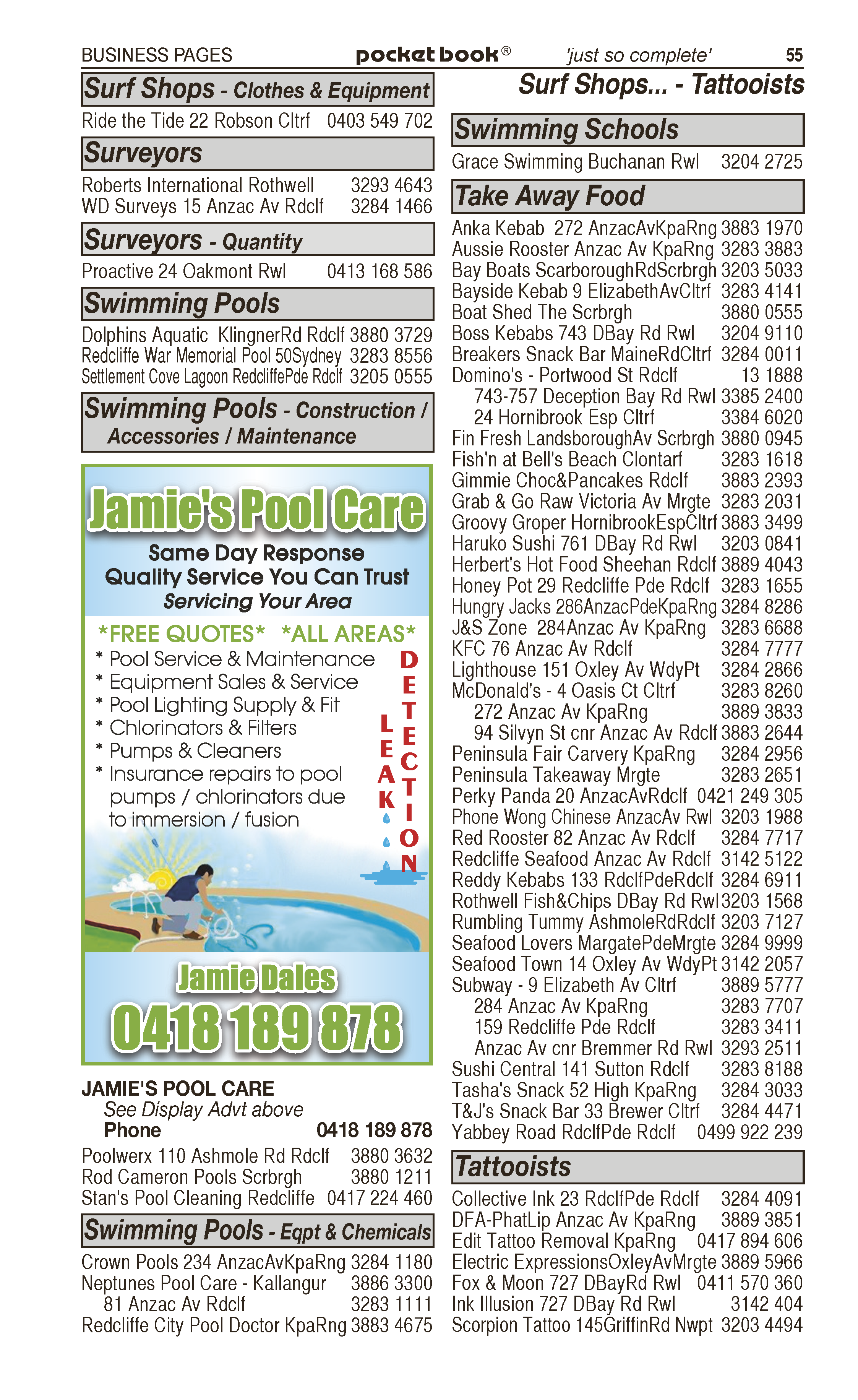 All Install | Television – Sales, Service, Repairs in Redcliffe | PBezy Pocket Books local directories - page 55