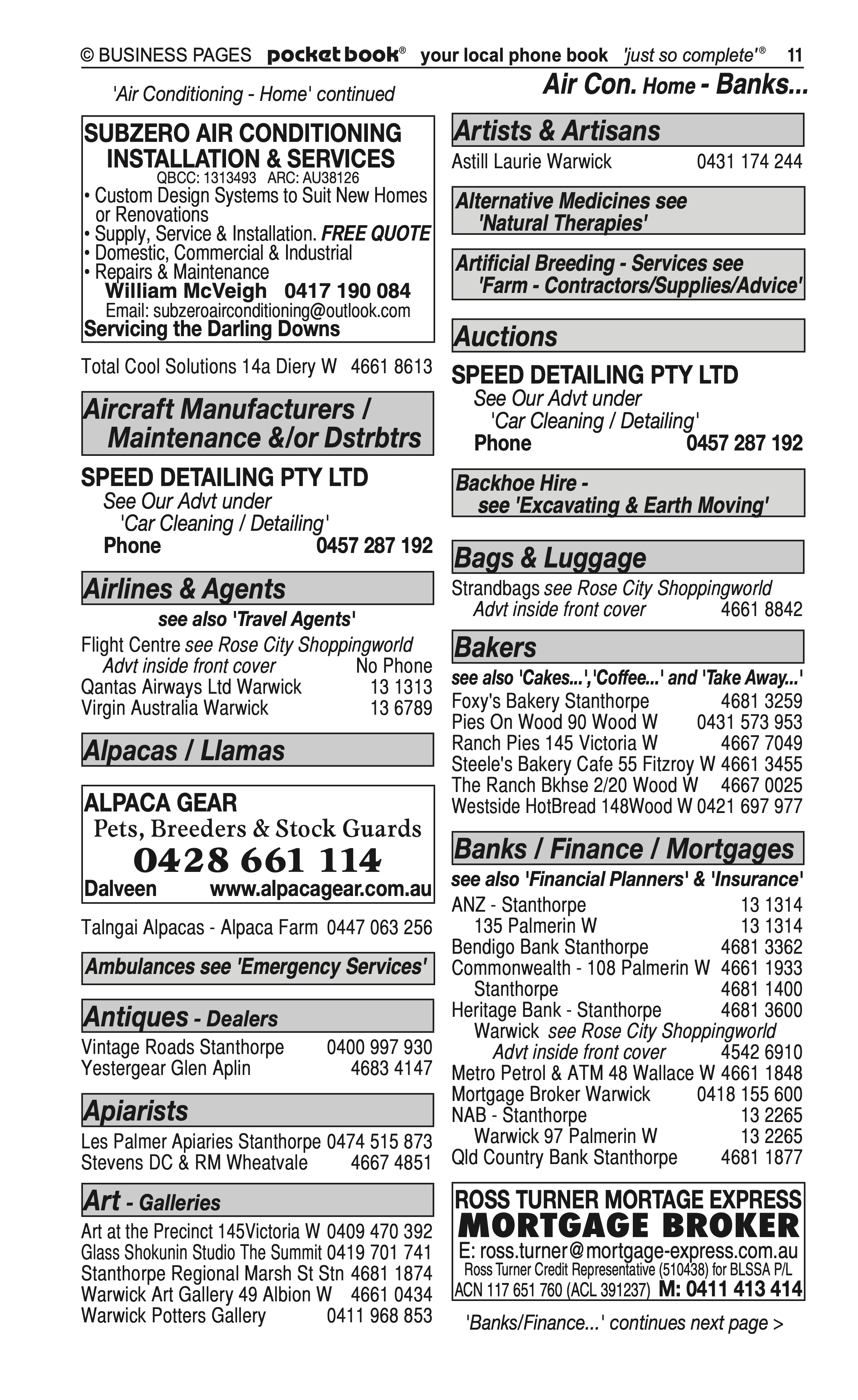 Speed Detailing Pty Ltd | Agricultural – Machinery & Services in Warwick | PBezy Pocket Books local directories - page 11