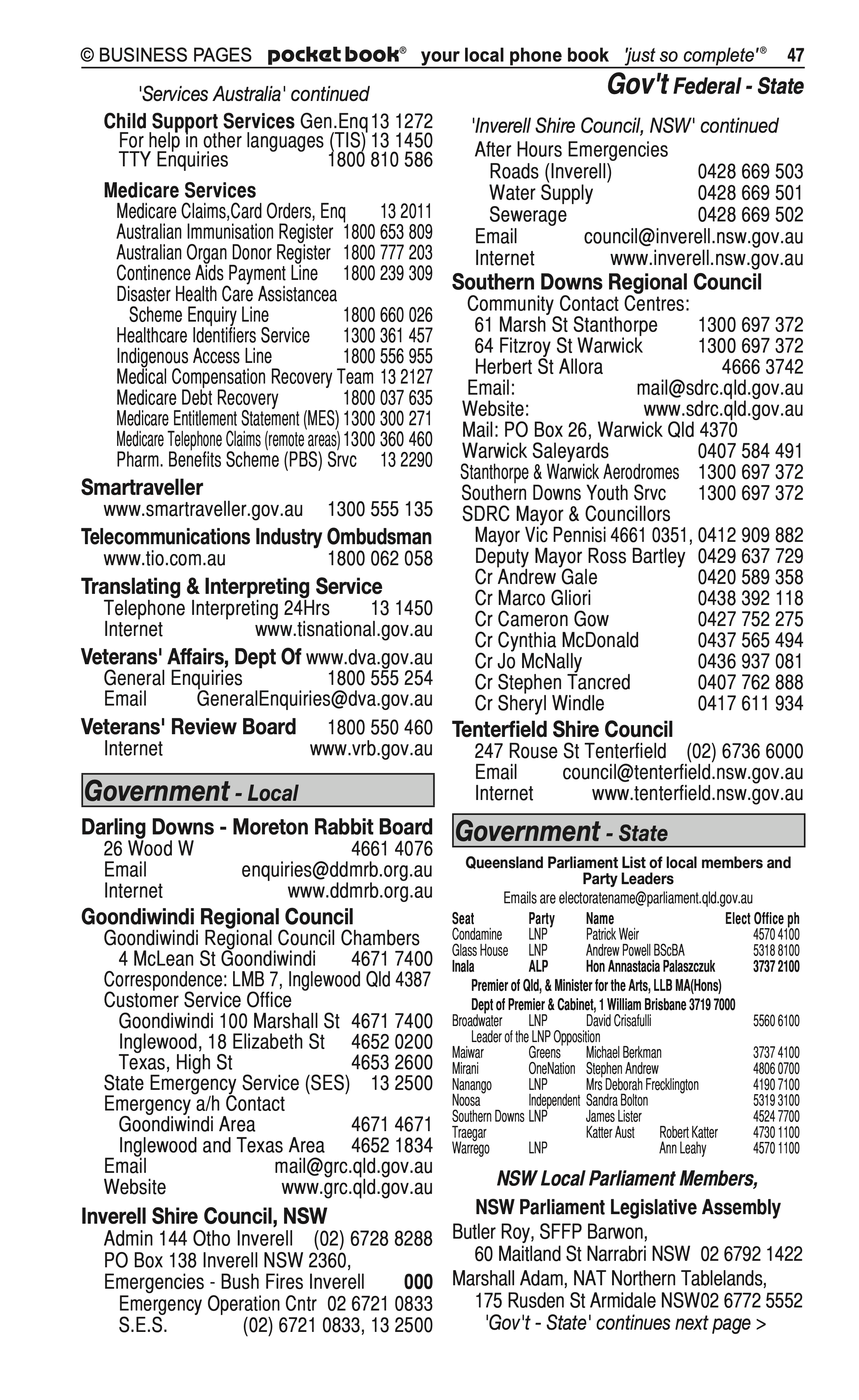 Speed Detailing Pty Ltd | Agricultural – Machinery & Services in Warwick | PBezy Pocket Books local directories - page 47