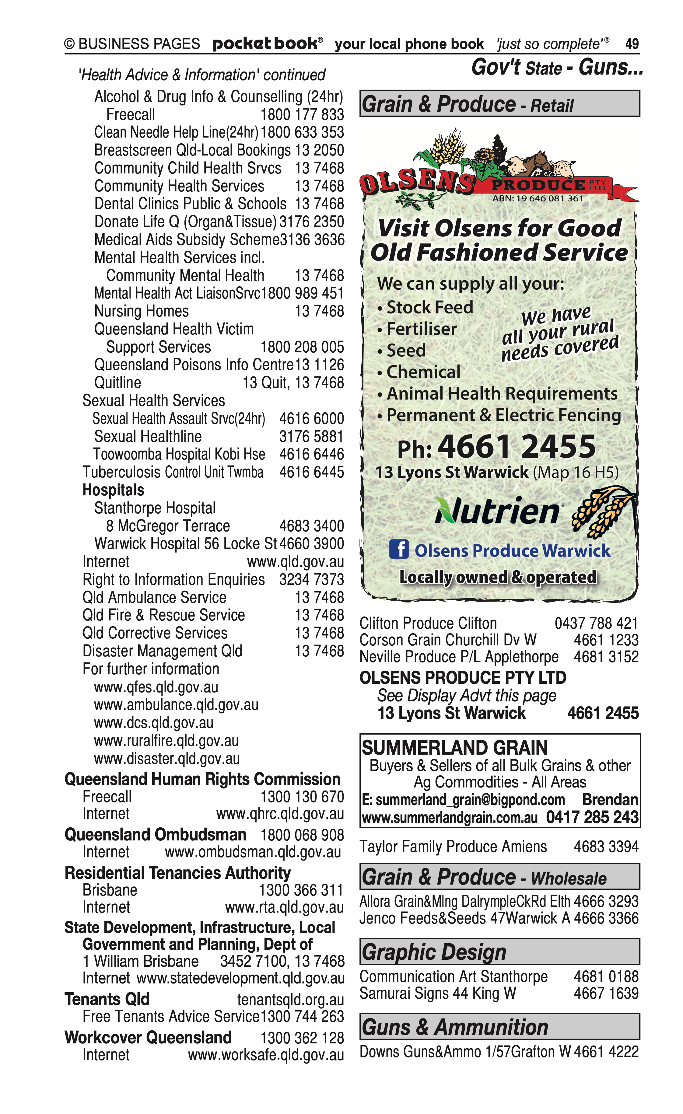 Allow Us | Food Delivery Services in Warwick | PBezy Pocket Books local directories - page 49