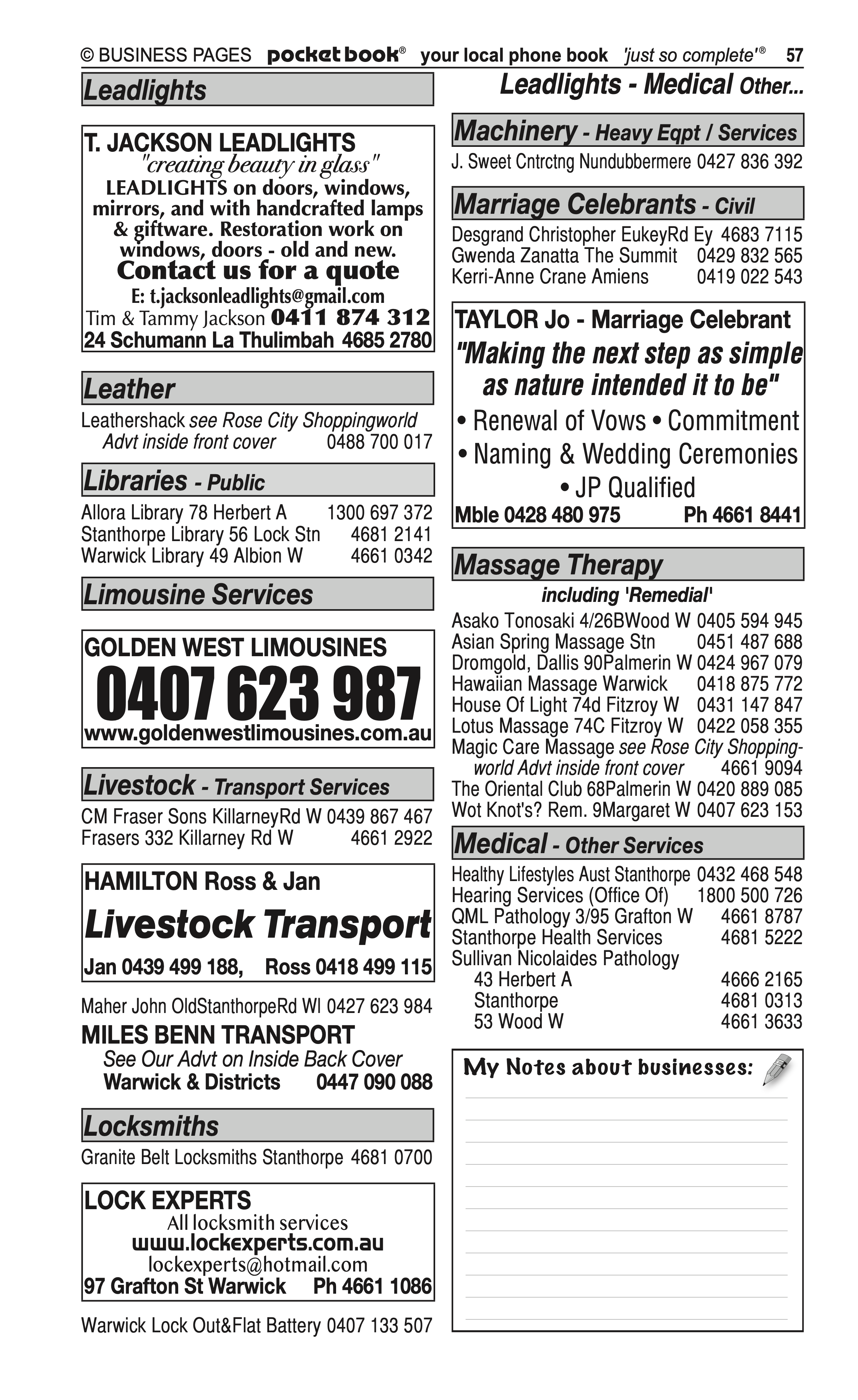 Olsens Produce | Grain & Produce – Retail in Warwick | PBezy Pocket Books local directories - page 57
