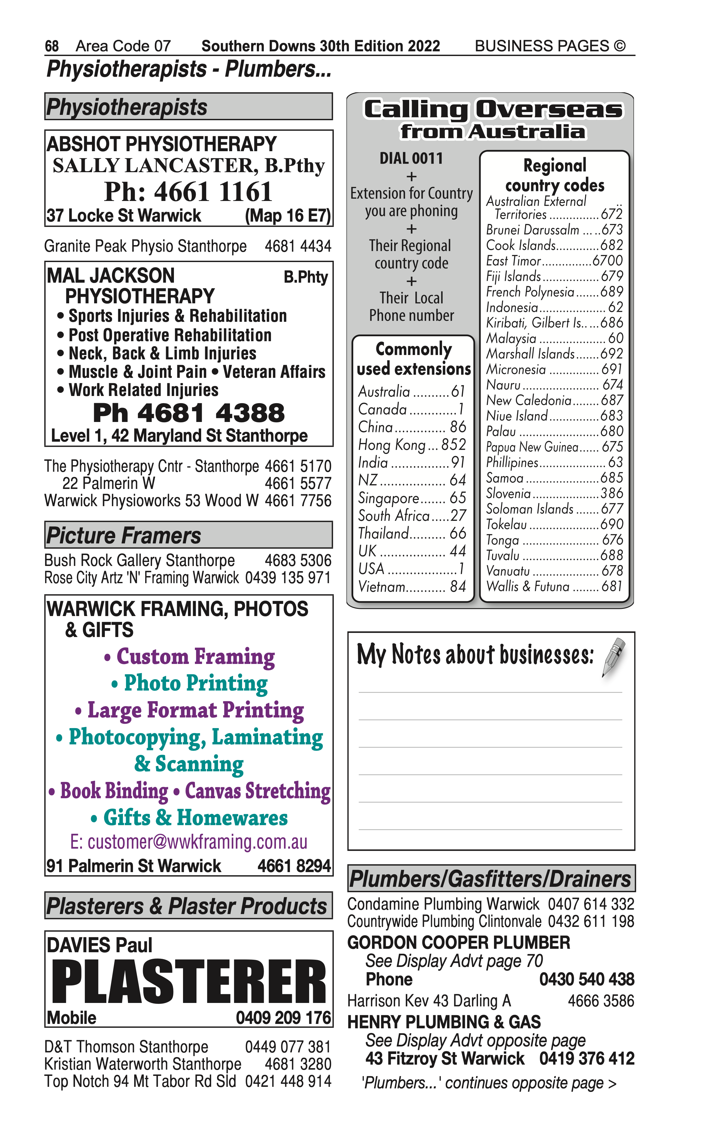 Stanthorpe Medical Clinic | Medical in Stanthorpe | PBezy Pocket Books local directories - page 68