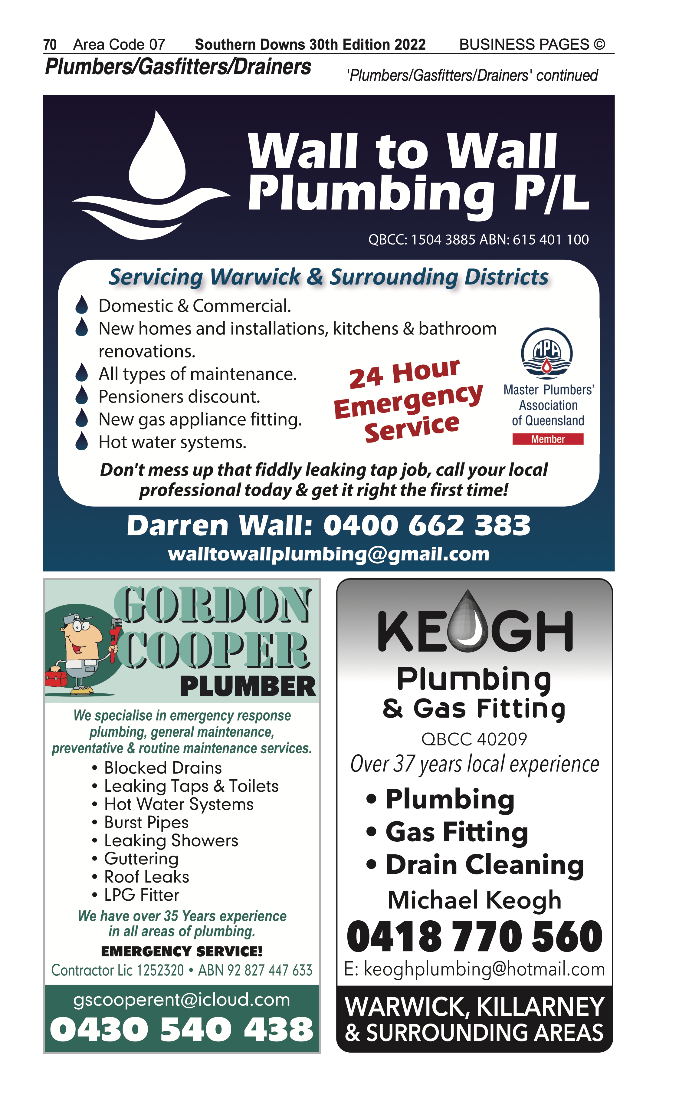 Albion St Auto Centre | Motor – Mufflers, Exhausts in Warwick | PBezy Pocket Books local directories - page 70