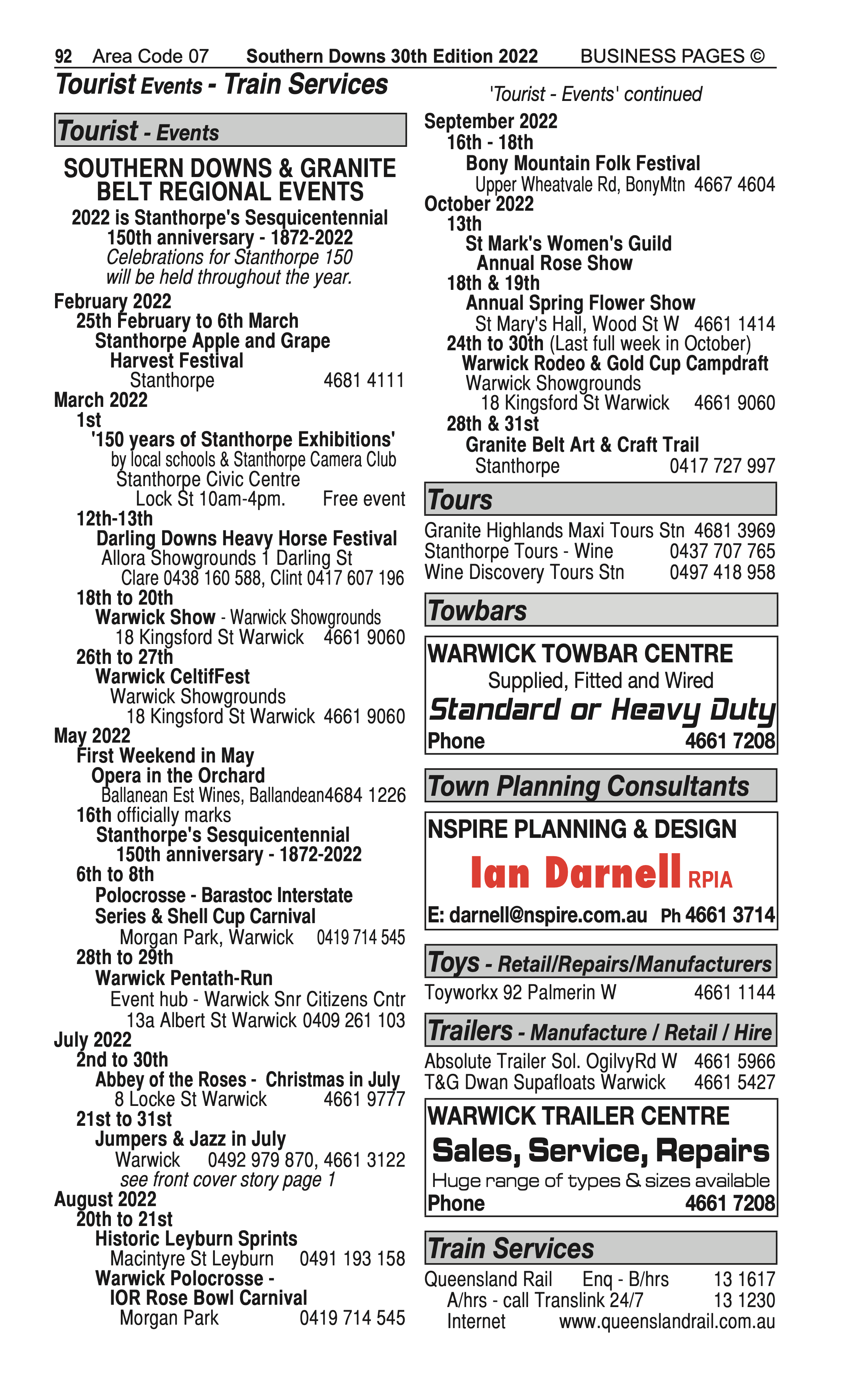 George & Fuhrmann (Holdings) Pty Ltd | Real Estate Agents in Warwick | PBezy Pocket Books local directories - page 92