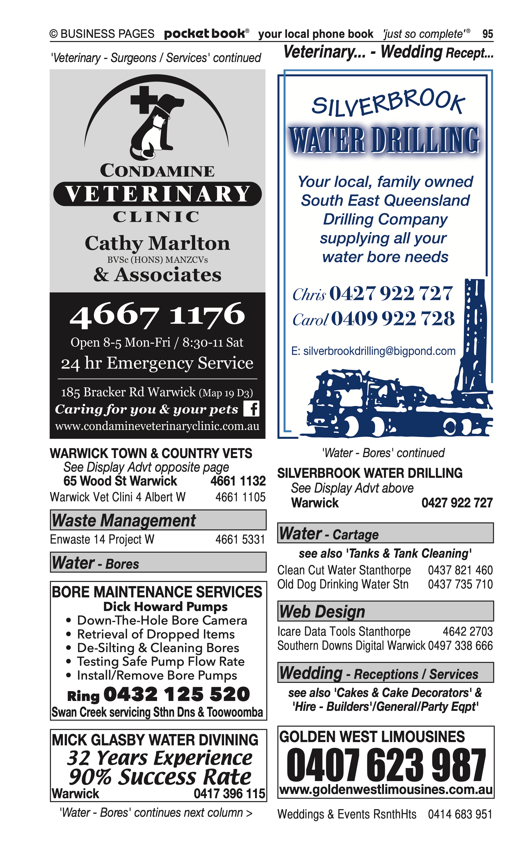 Action Graphics | Screen Printers & Screen Printing in Dalveen | PBezy Pocket Books local directories - page 95