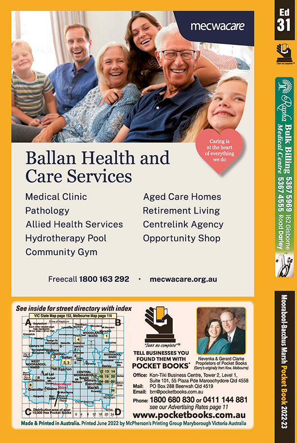 Ballan Lifeline Medical Centre | Medical – Practitioners in Ballan | PBezy Pocket Books local directories - page -3