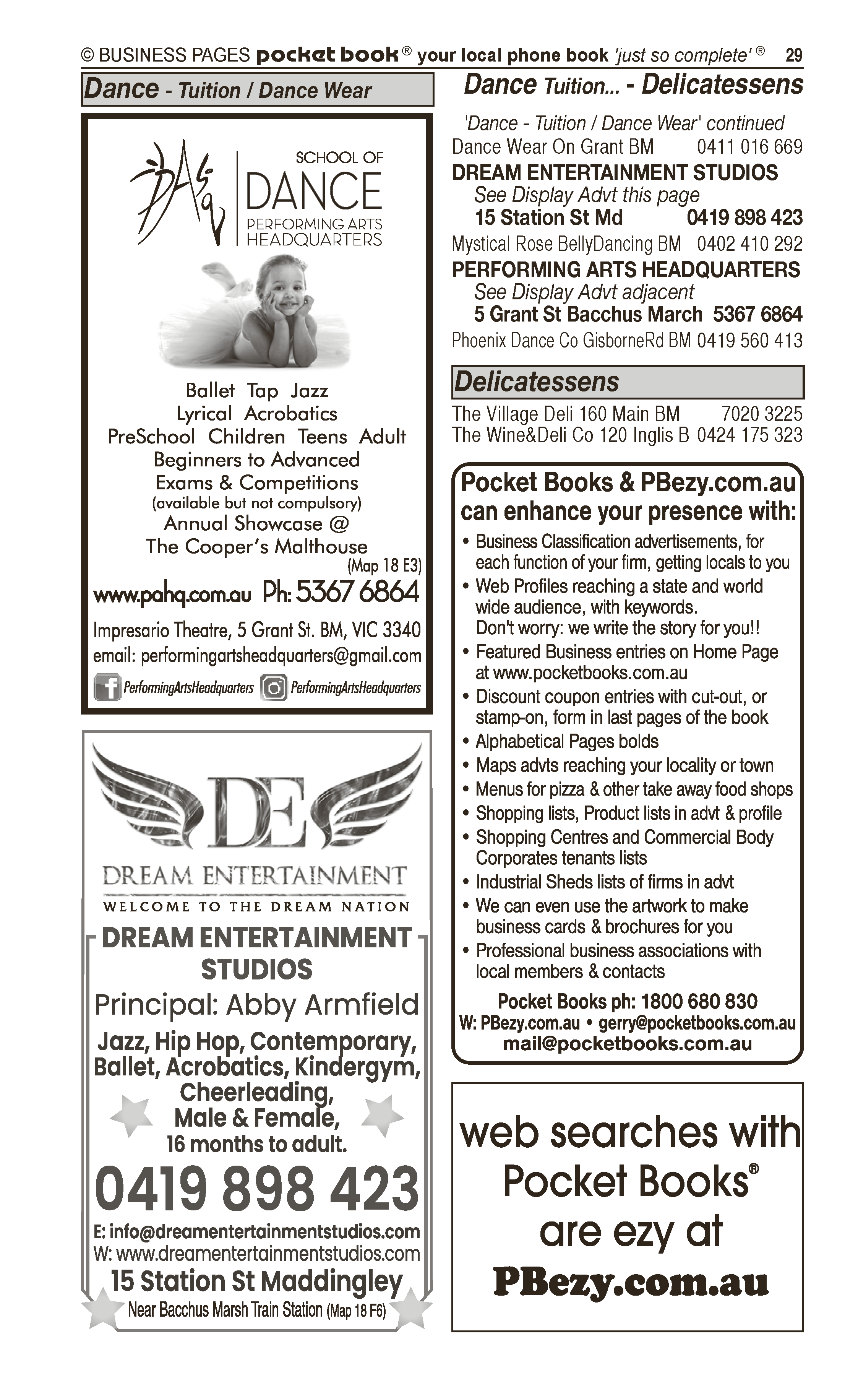 Catholic Presbytery & Saint Bernard's Church | Churches in Bacchus Marsh | PBezy Pocket Books local directories - page 29