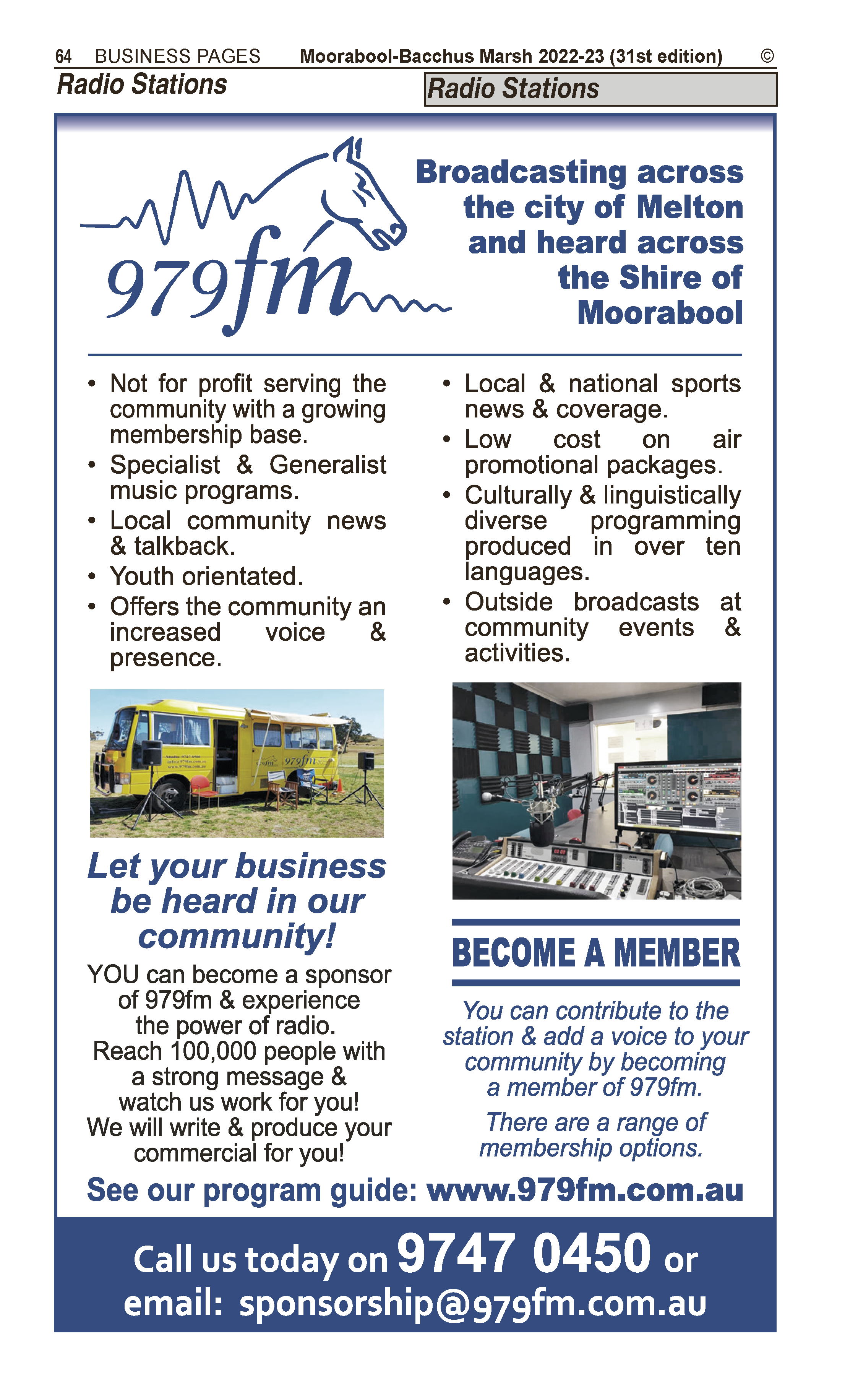 Generations Of Bacchus Marsh | Hairdressers – Ladies' in Bacchus Marsh | PBezy Pocket Books local directories - page 64