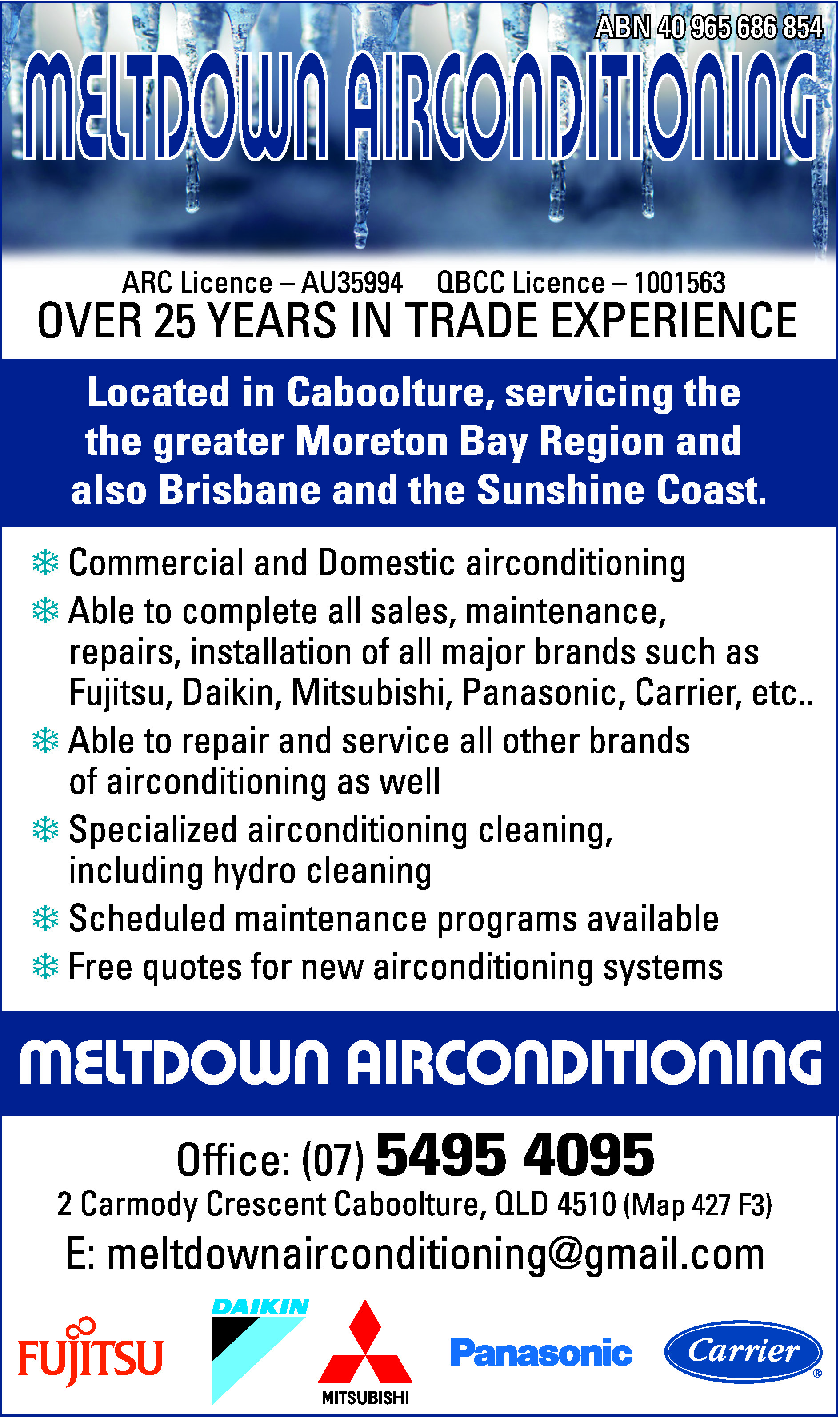 Meltdown Air Conditioning - Air Conditioning - Home