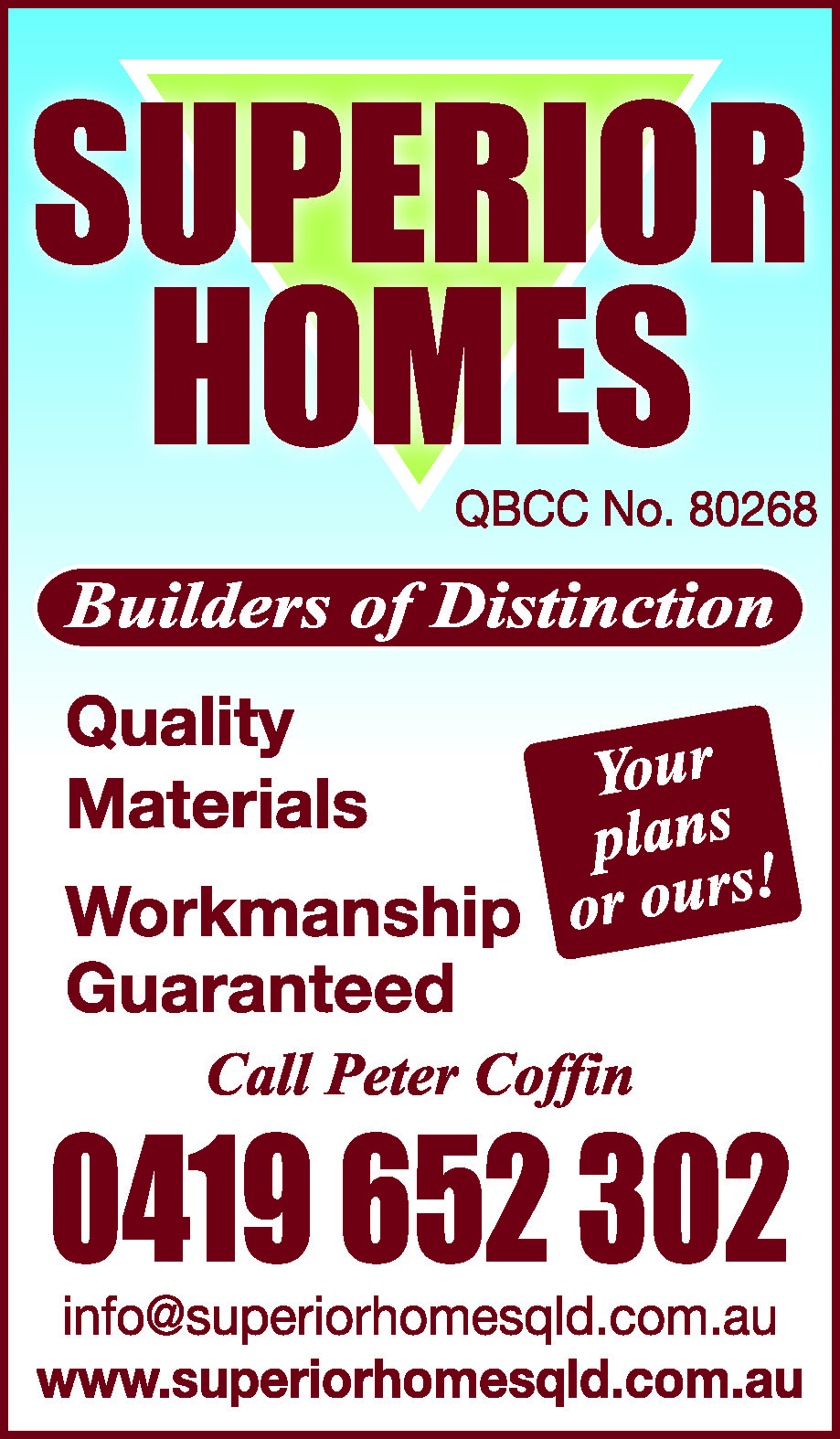 Superior Homes - Cladding