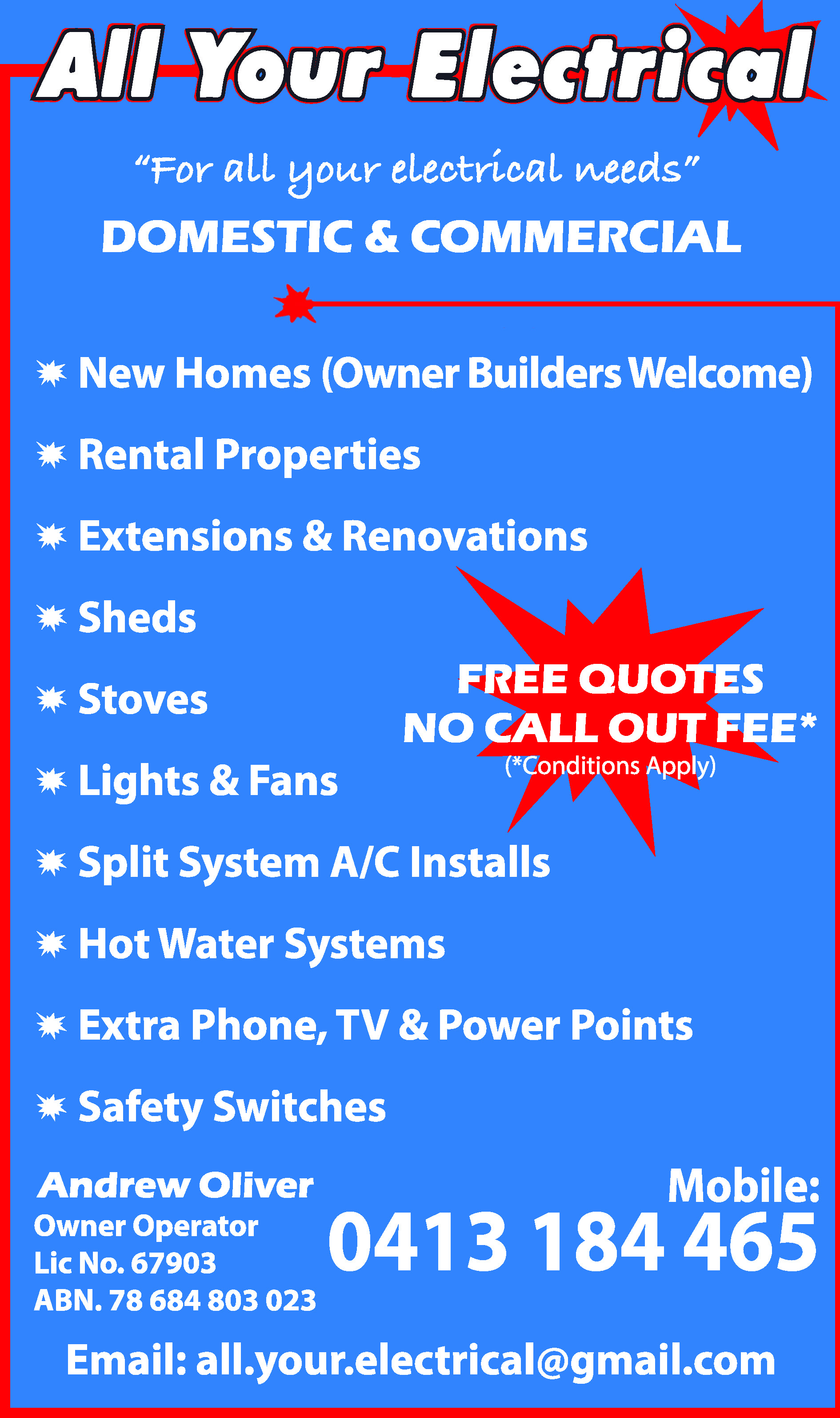 All Your Electrical - Electricians