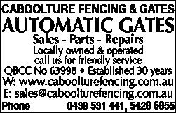 Caboolture Fencing & Gates - Fencing - Contractors, Materials