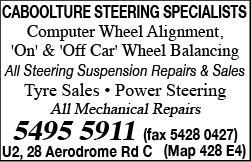Caboolture Steering Specialists - Car Repair