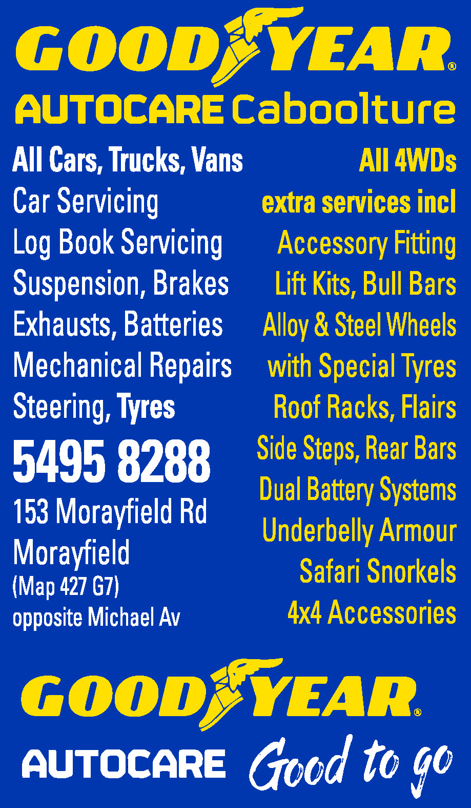 Goodyear Autocare Caboolture - Tyres