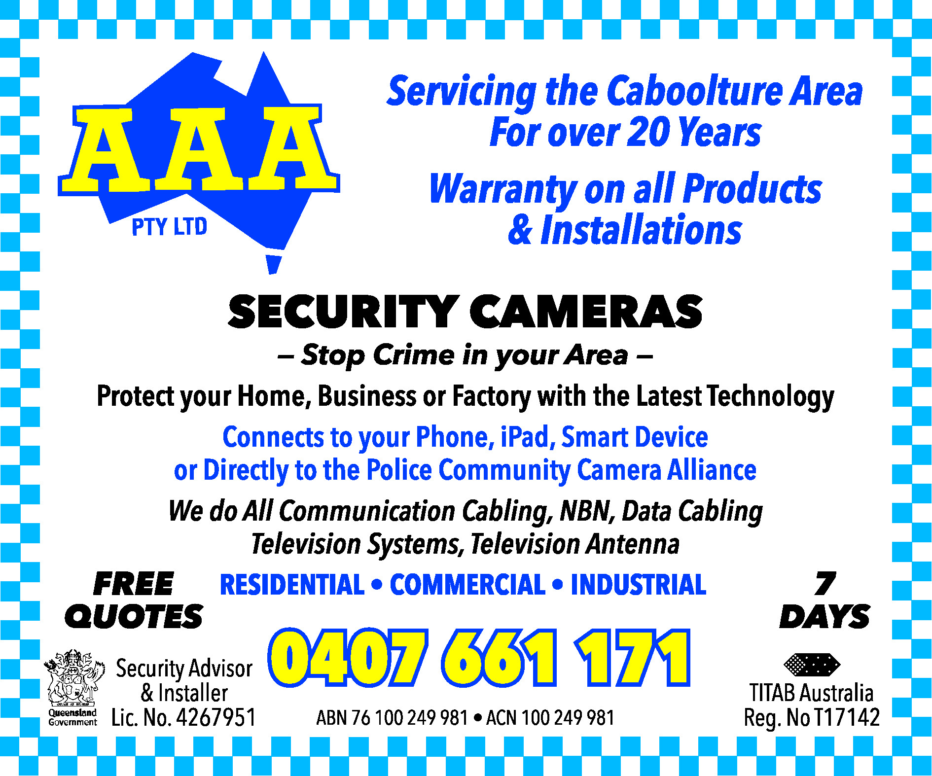 AAA Pty Ltd - Security