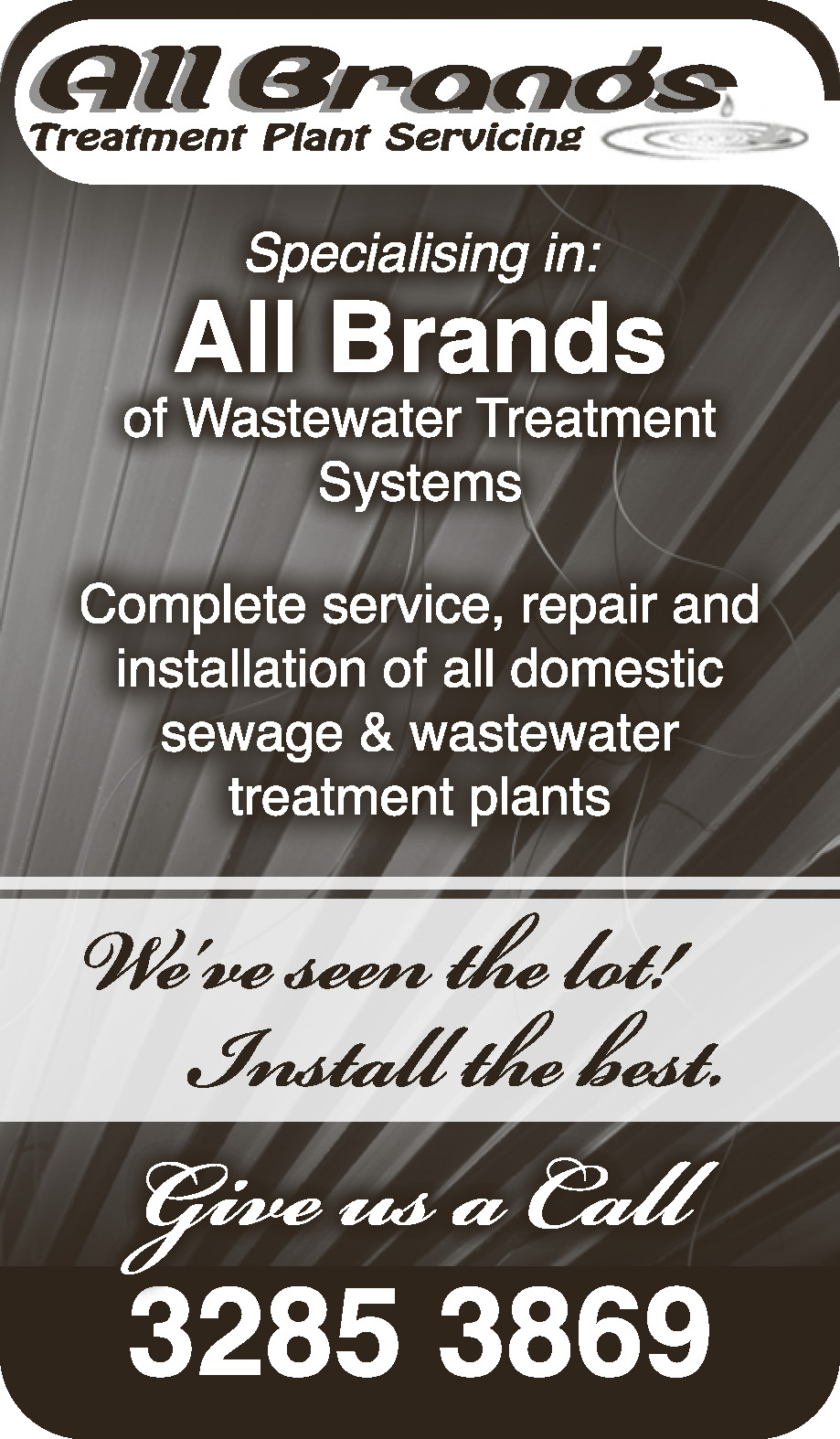 All Brands - Sewage & Waste Water Treatment